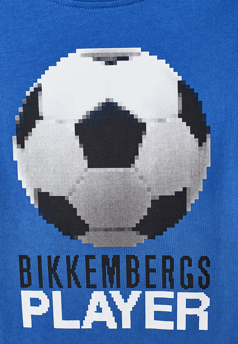 Футболка с коротким рукавом Bikkembergs (Биккембергс) BK0237: изображение 3