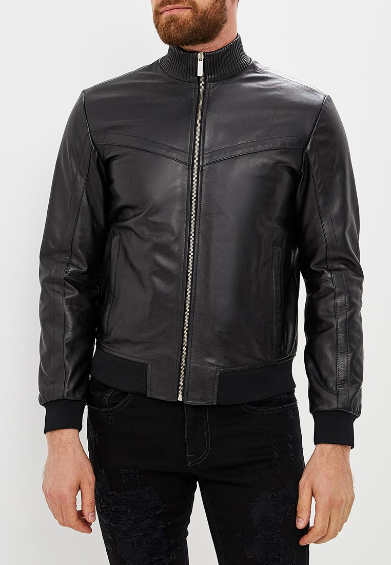 Кожаная куртка Bikkembergs C H 019 00 D 1152