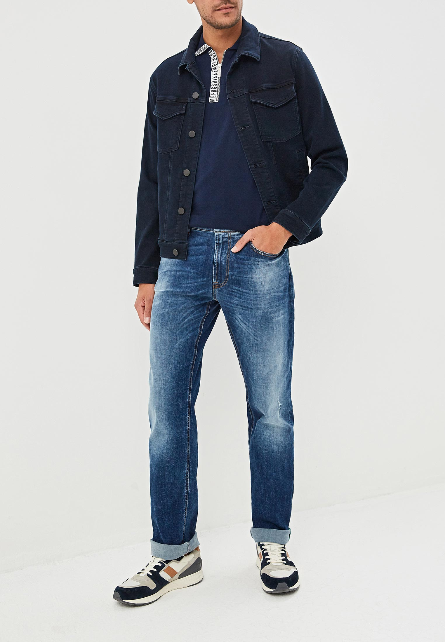 Мужские прямые джинсы Bikkembergs C Q 102 00 S 3181: изображение 2