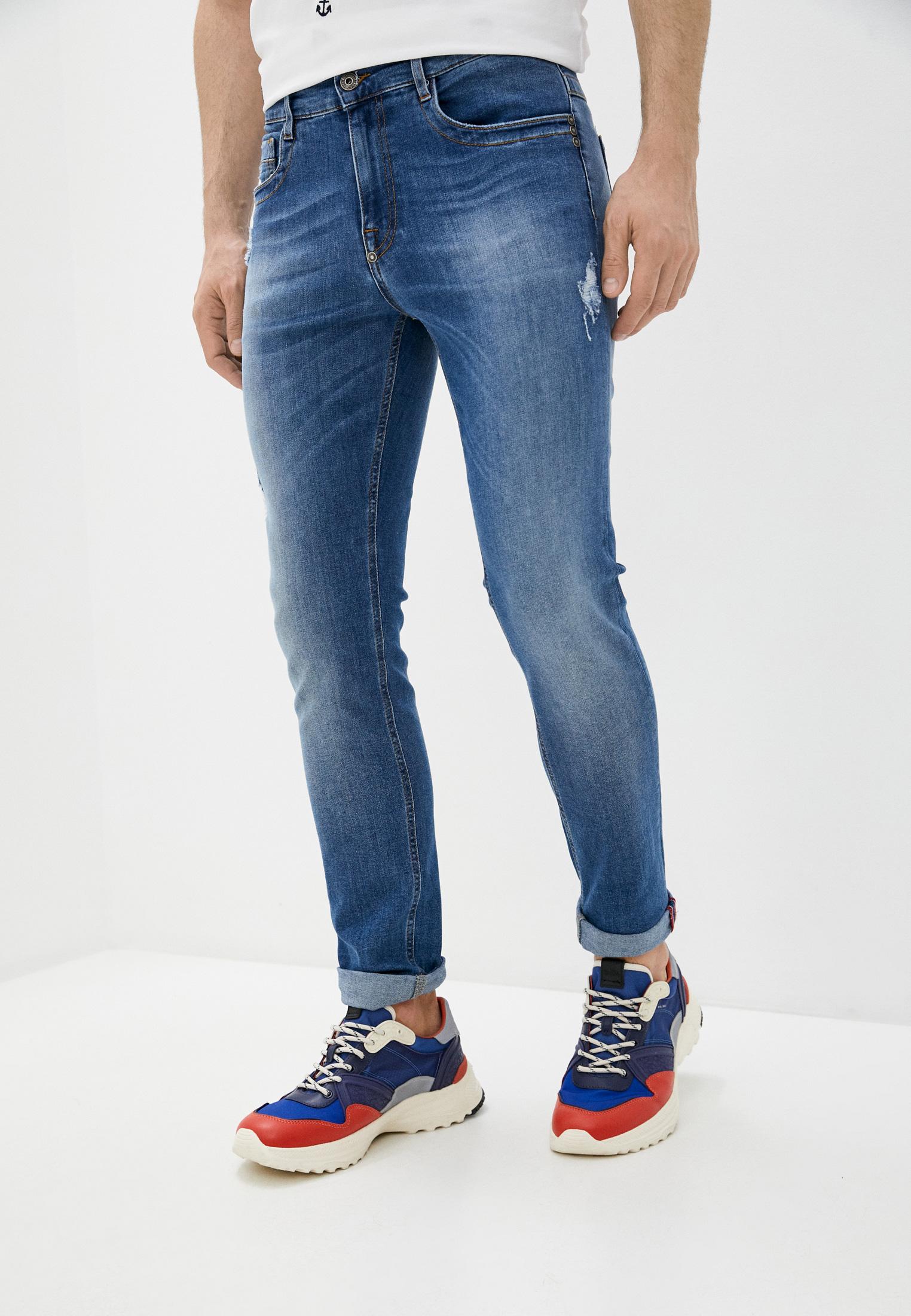 Мужские зауженные джинсы Bikkembergs (Биккембергс) c q 101 03 s 3418: изображение 1