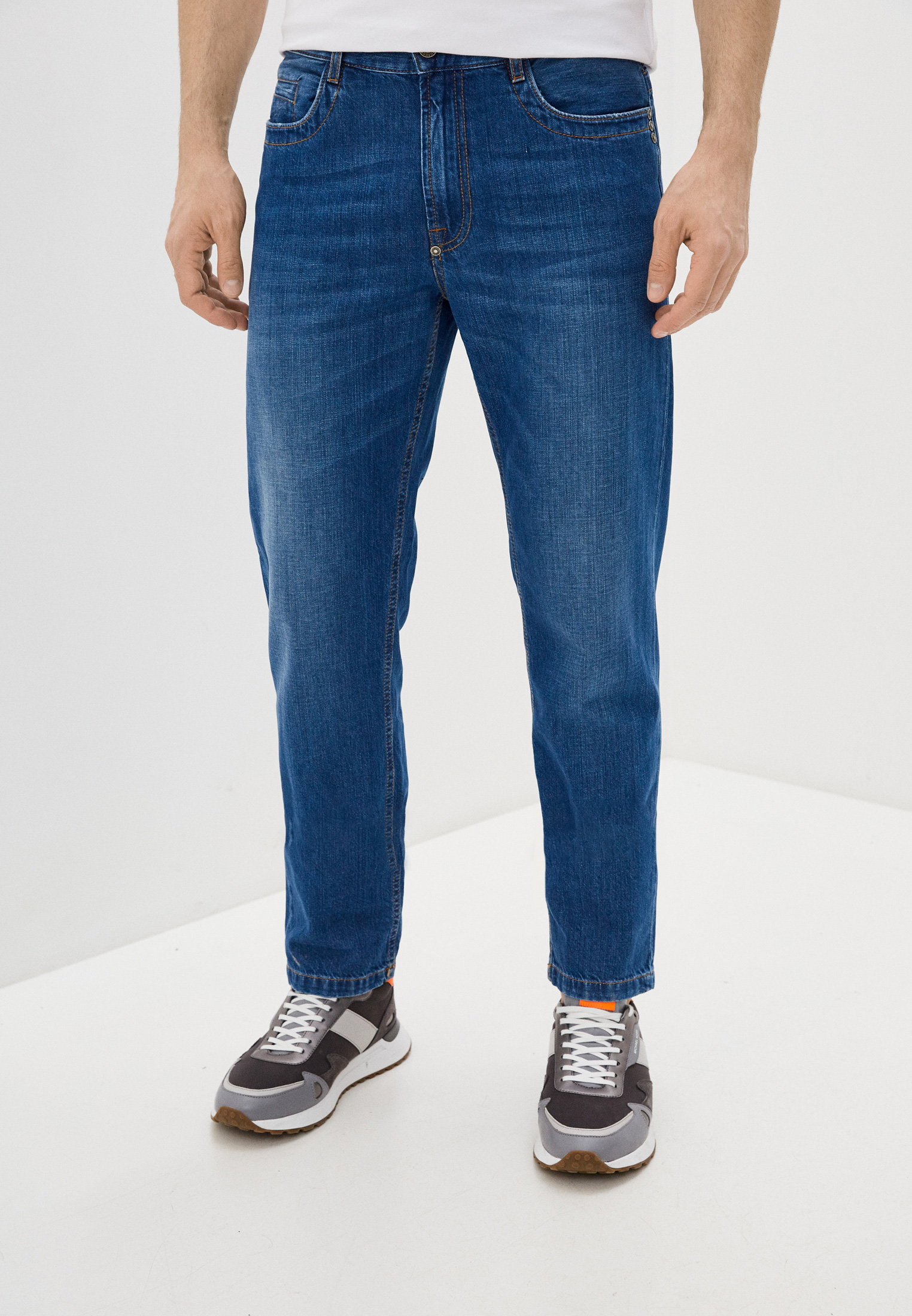 Мужские прямые джинсы Bikkembergs (Биккембергс) c q 102 03 t 9974