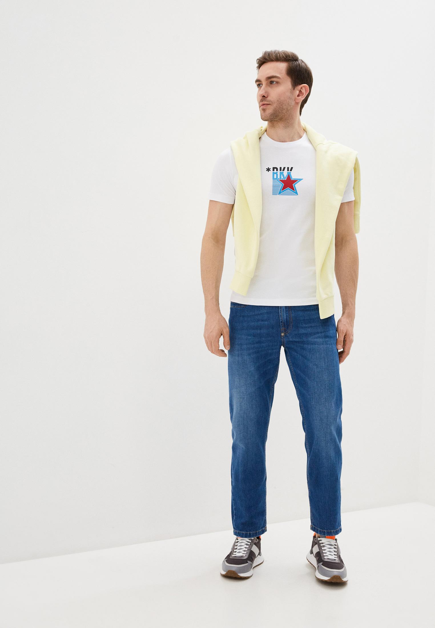 Мужские прямые джинсы Bikkembergs (Биккембергс) c q 102 03 t 9974: изображение 3