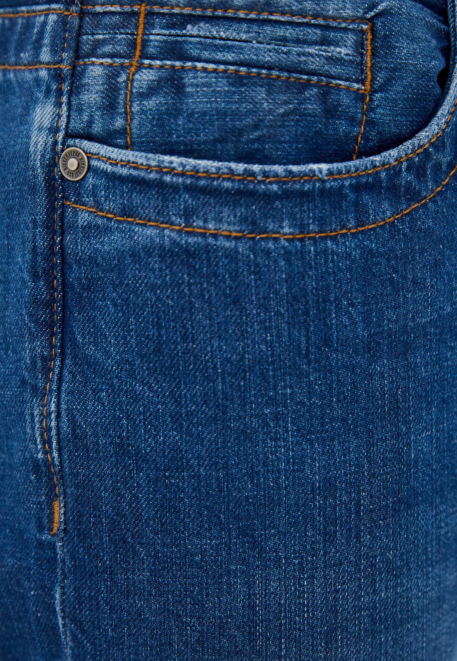 Мужские прямые джинсы Bikkembergs (Биккембергс) c q 102 03 t 9974: изображение 5