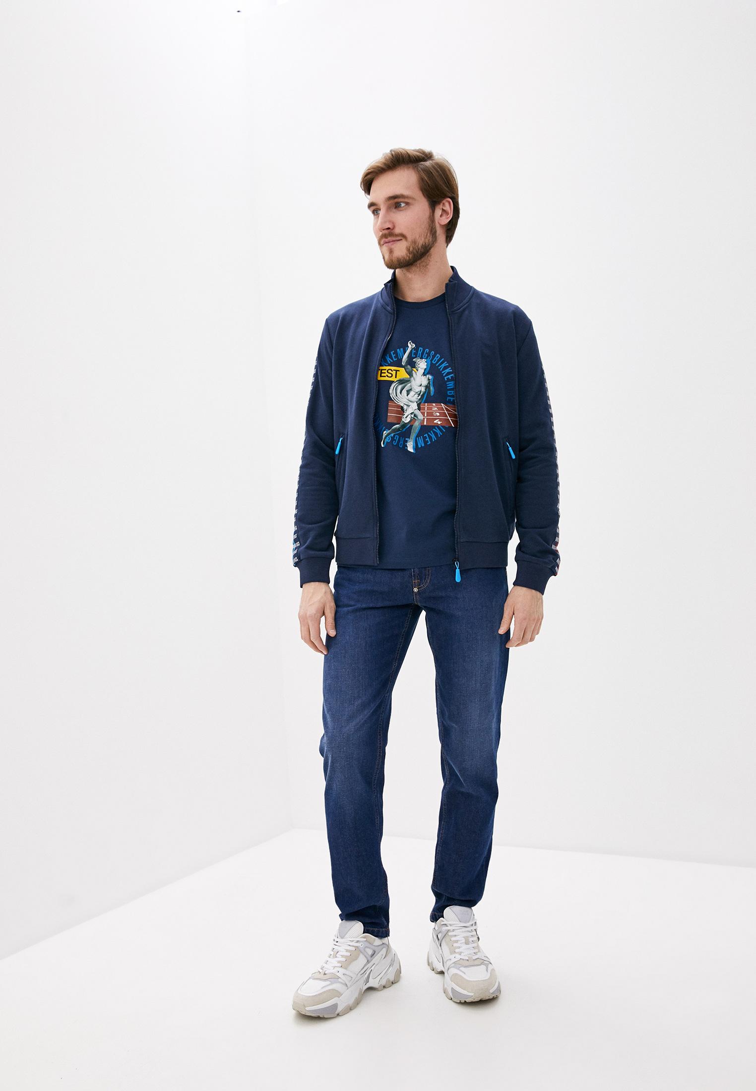 Мужские прямые джинсы Bikkembergs (Биккембергс) c q 102 03 t 9974: изображение 7