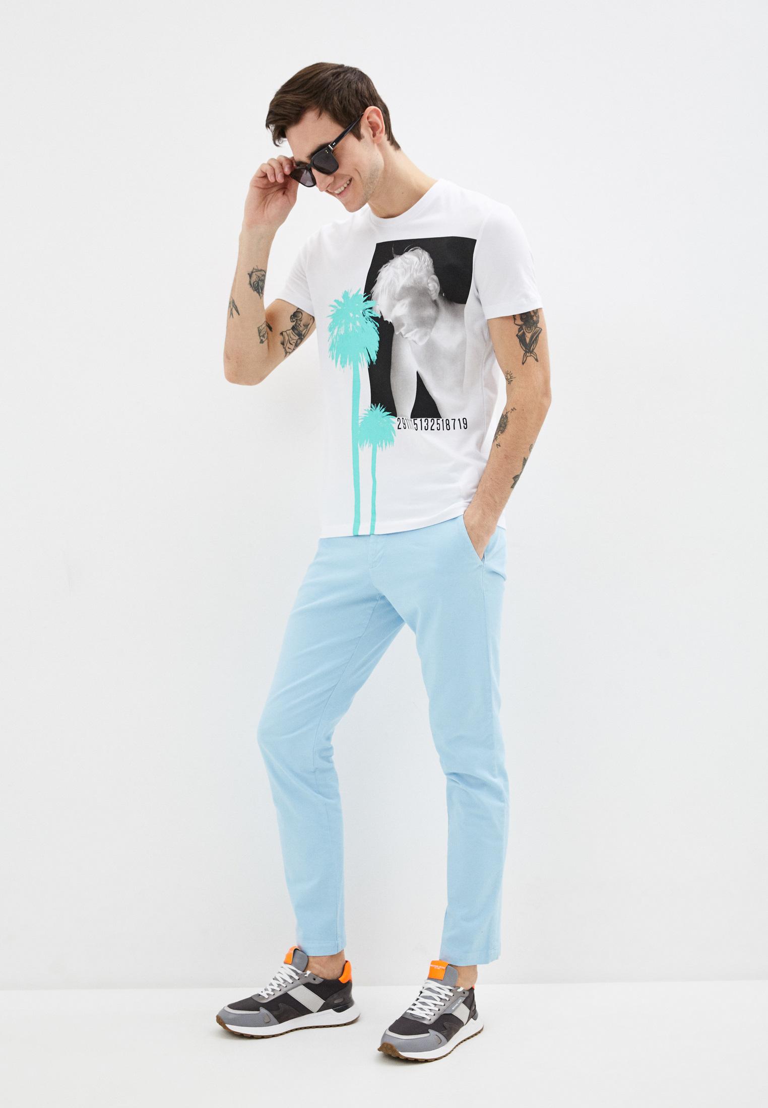Мужские повседневные брюки Bikkembergs (Биккембергс) C P 001 01 S 3394: изображение 2