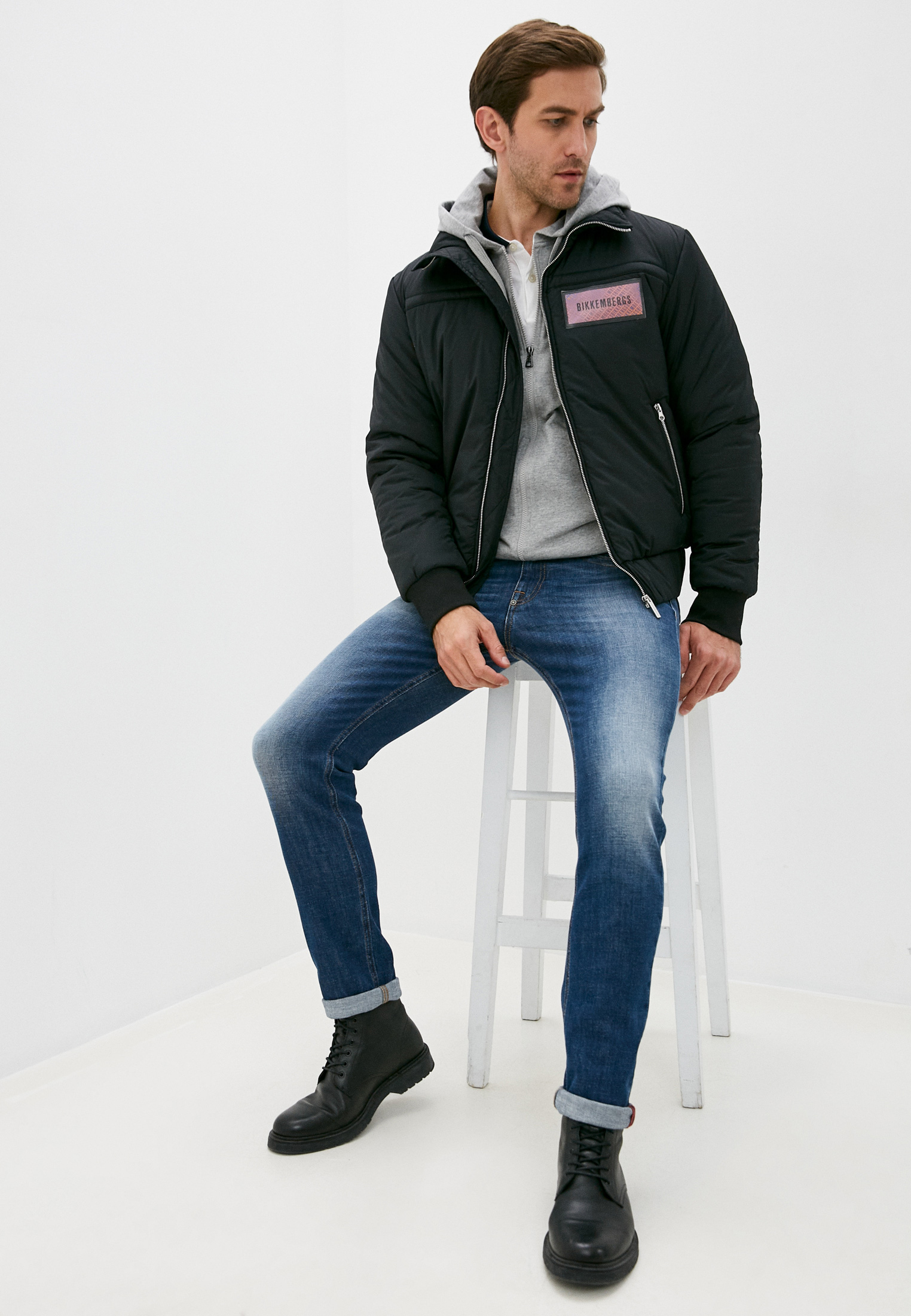 Мужская куртка Bikkembergs (Биккембергс) C H 130 00 S 3464: изображение 3