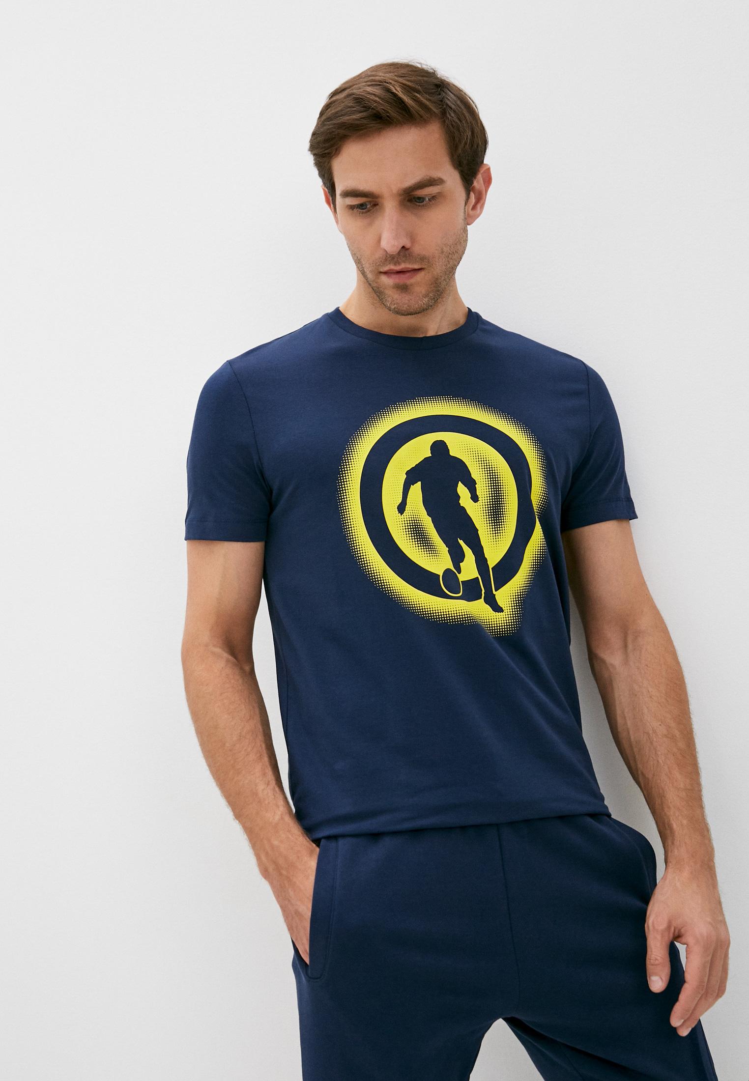 Мужская футболка Bikkembergs (Биккембергс) C 7 021 1T E 1814