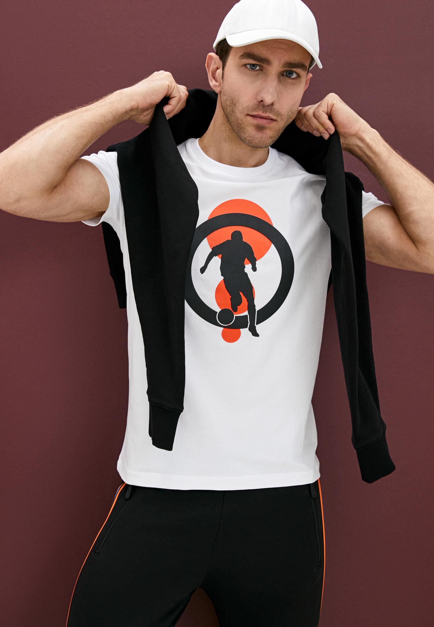 Мужская футболка Bikkembergs (Биккембергс) C 7 021 4U E 1823: изображение 2