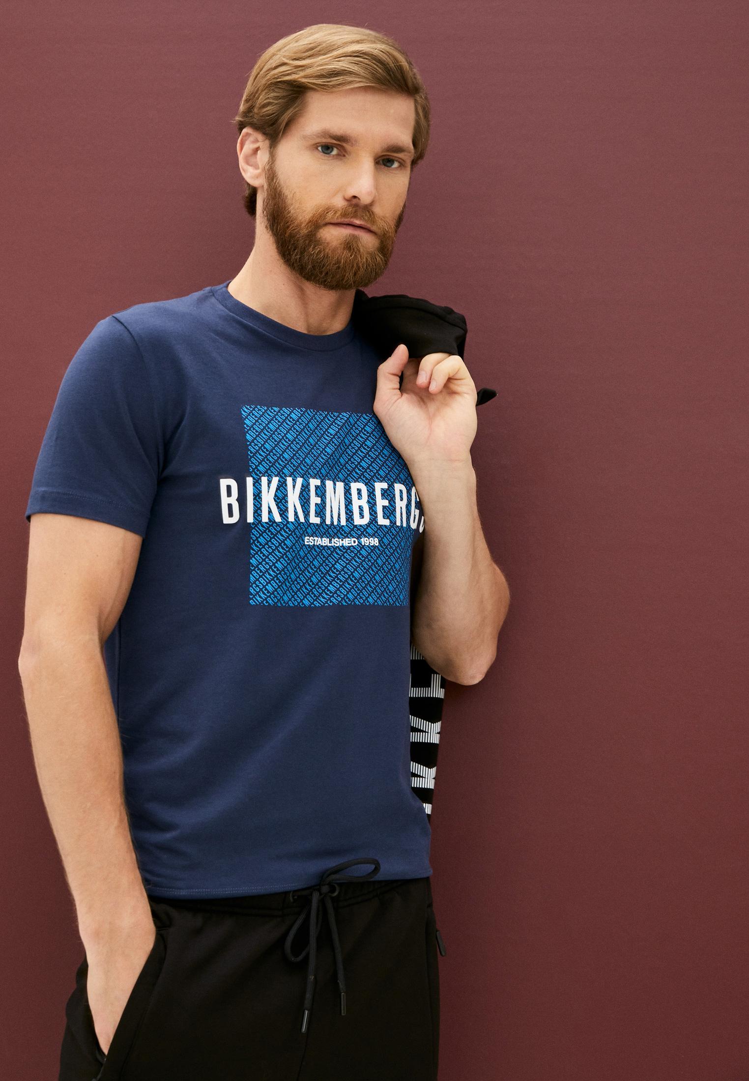 Мужская футболка Bikkembergs (Биккембергс) C 7 021 9T E 1823: изображение 2