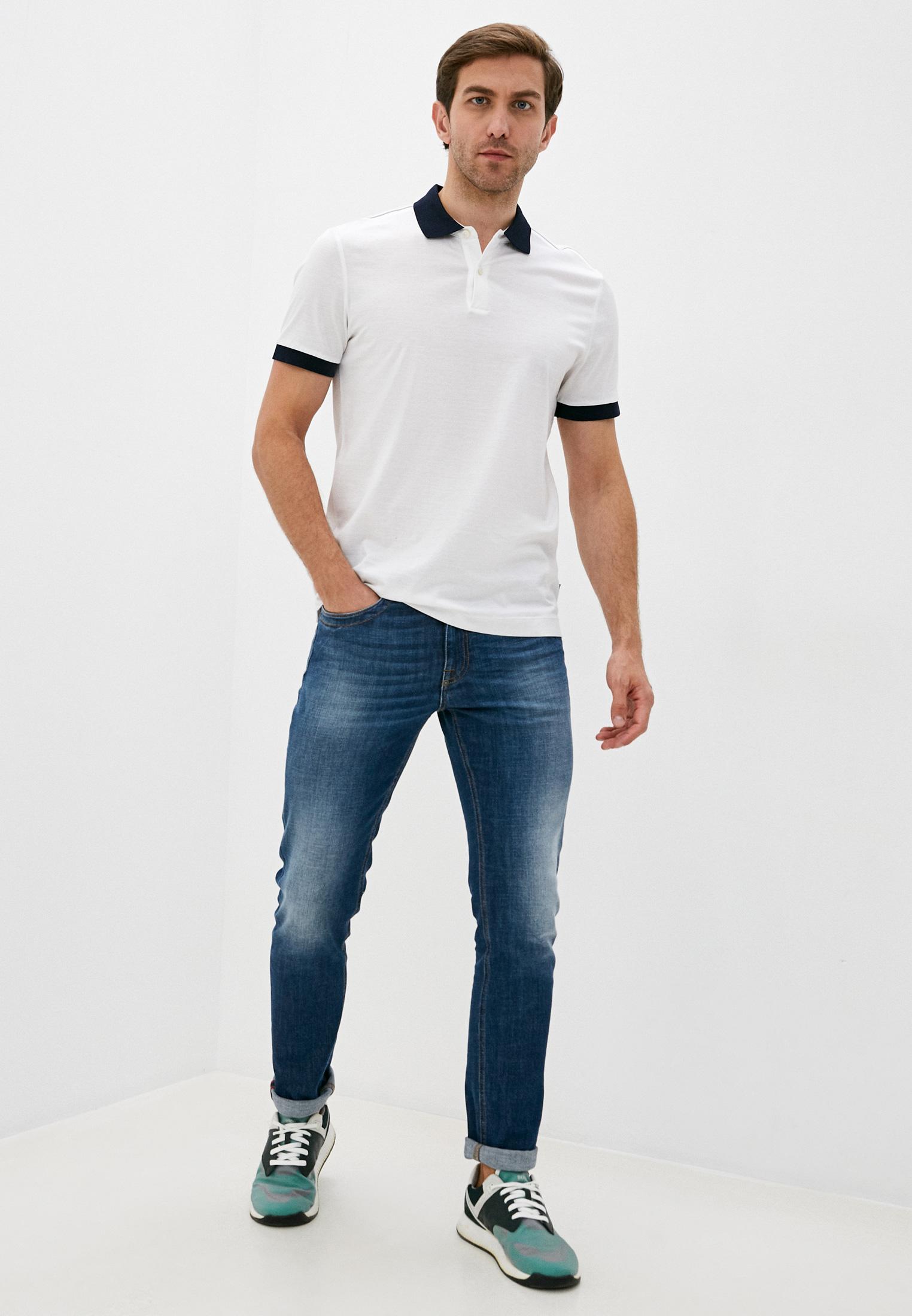 Мужские прямые джинсы Bikkembergs (Биккембергс) C Q 101 17 S 3393: изображение 3
