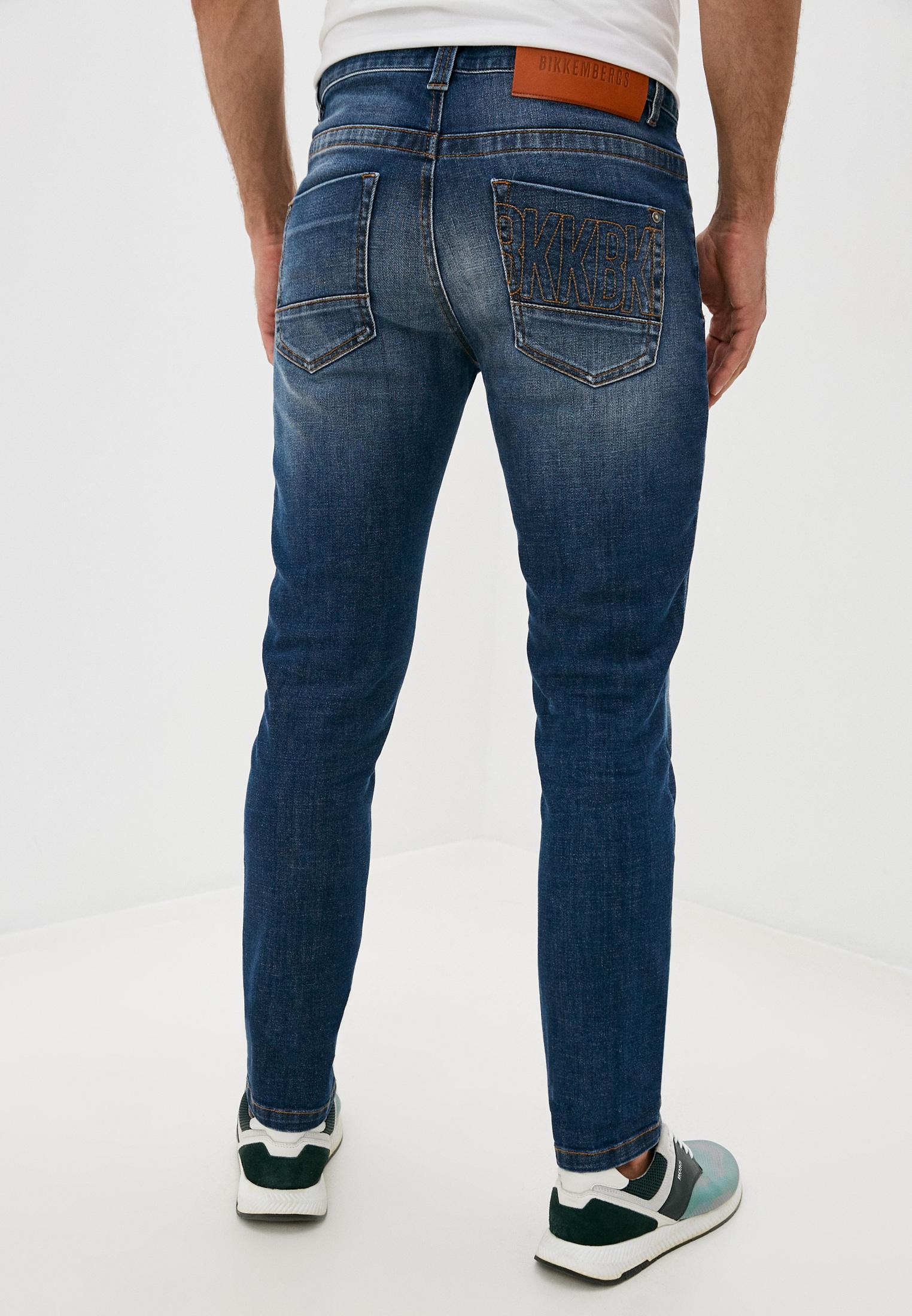 Мужские прямые джинсы Bikkembergs (Биккембергс) C Q 101 17 S 3393: изображение 4
