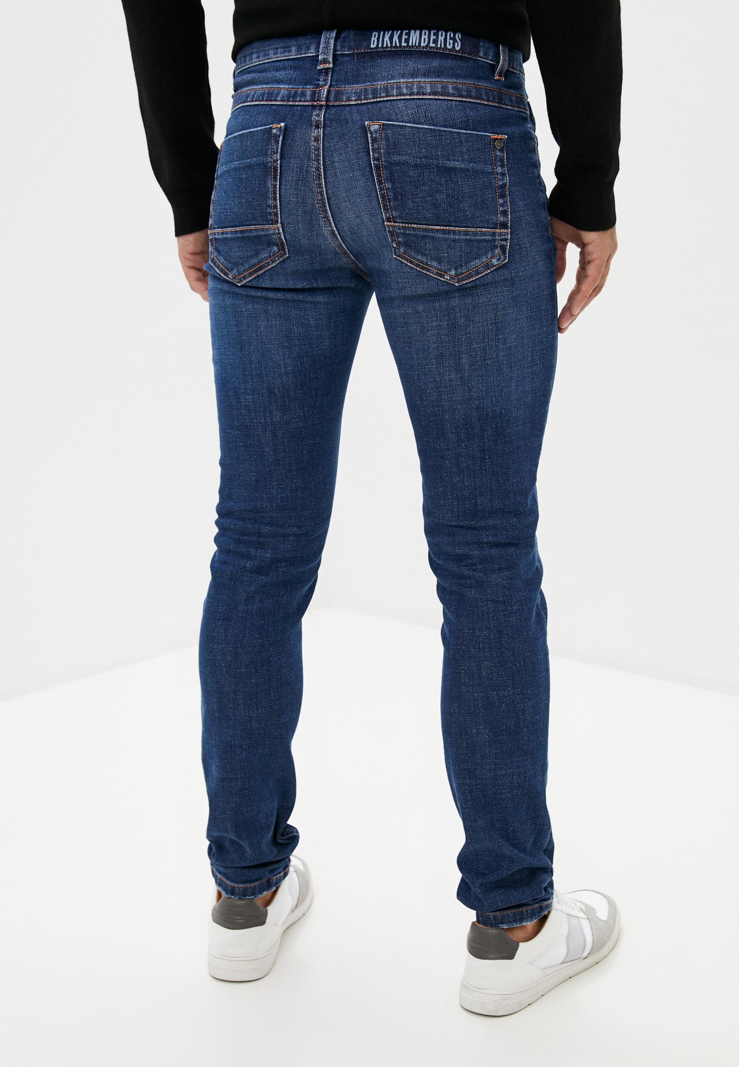 Мужские зауженные джинсы Bikkembergs (Биккембергс) C Q 101 05 S 3393: изображение 4