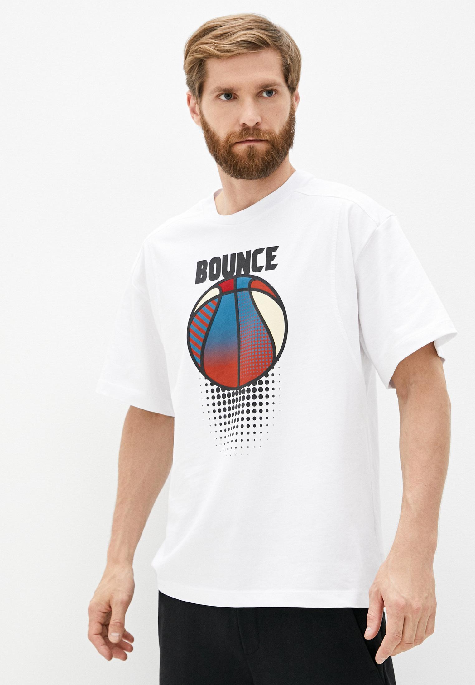 Мужская футболка Bikkembergs (Биккембергс) C 4 091 8Q M 4168