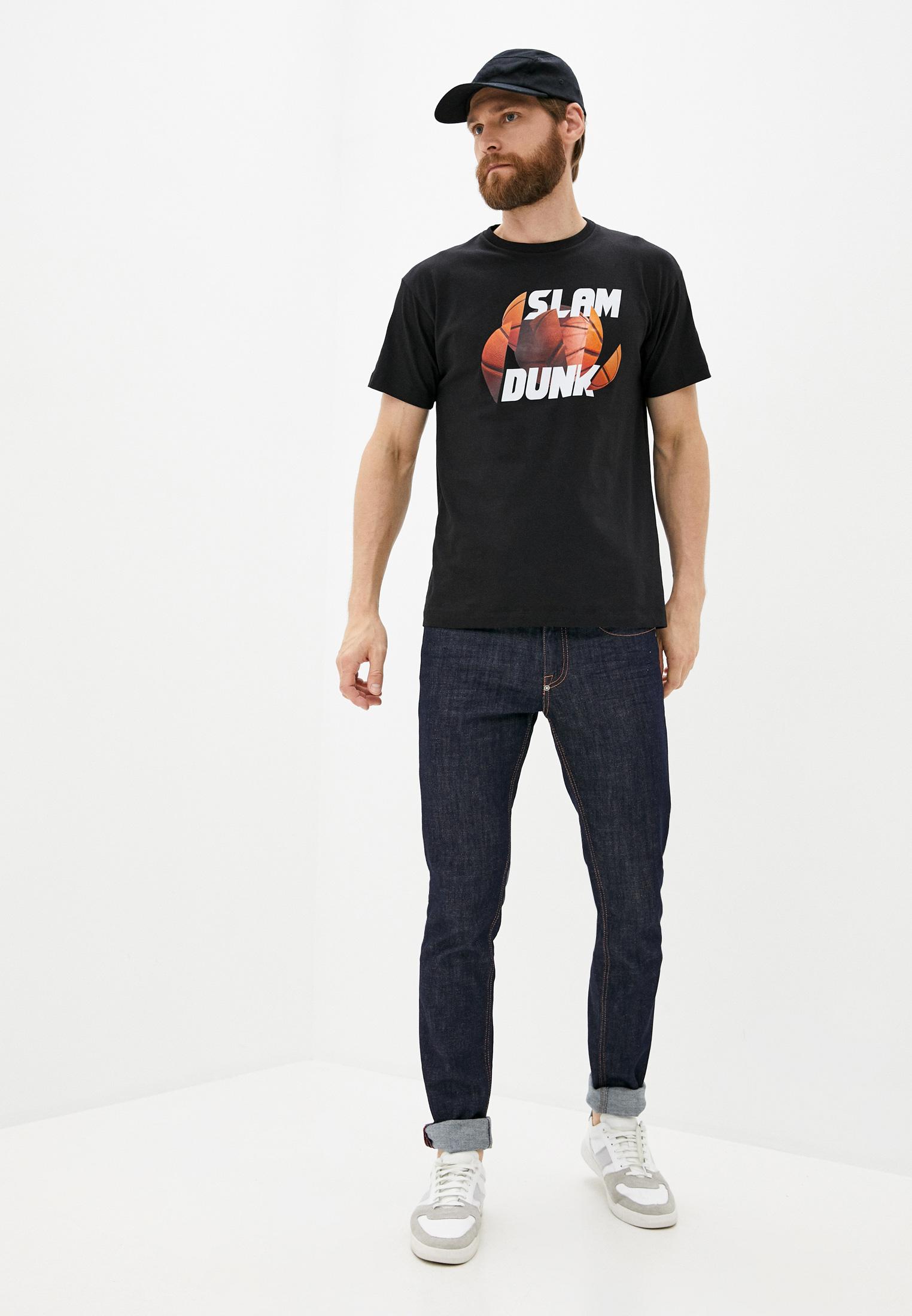 Мужская футболка Bikkembergs (Биккембергс) C 7 022 7Q E 1814: изображение 3