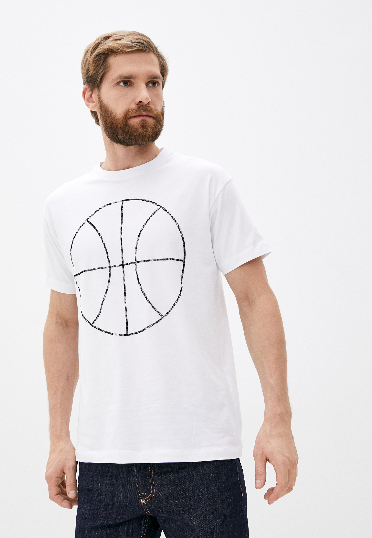 Мужская футболка Bikkembergs (Биккембергс) C 7 022 4R E 1814: изображение 1