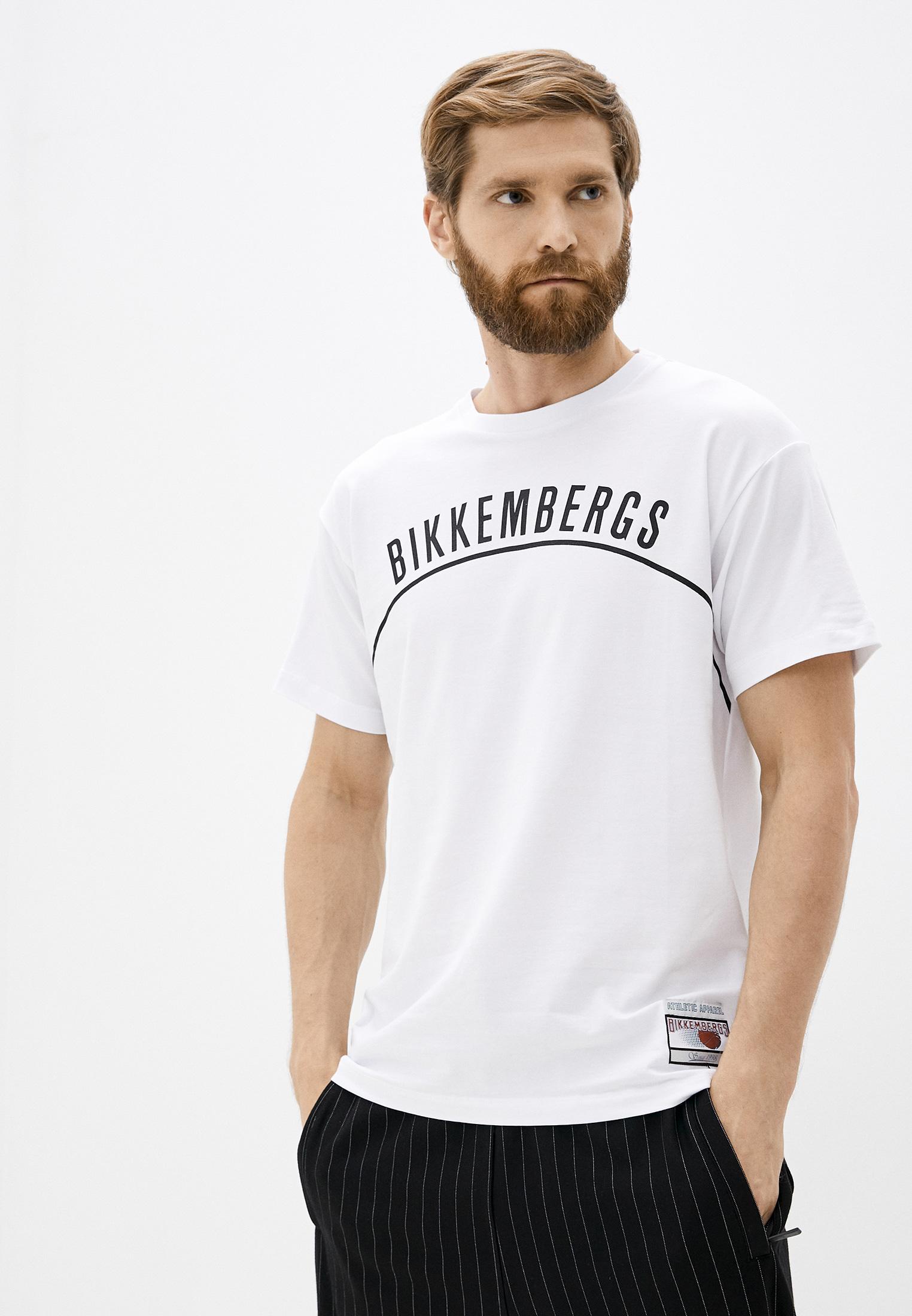 Мужская футболка Bikkembergs (Биккембергс) C 7 022 6R E 1814