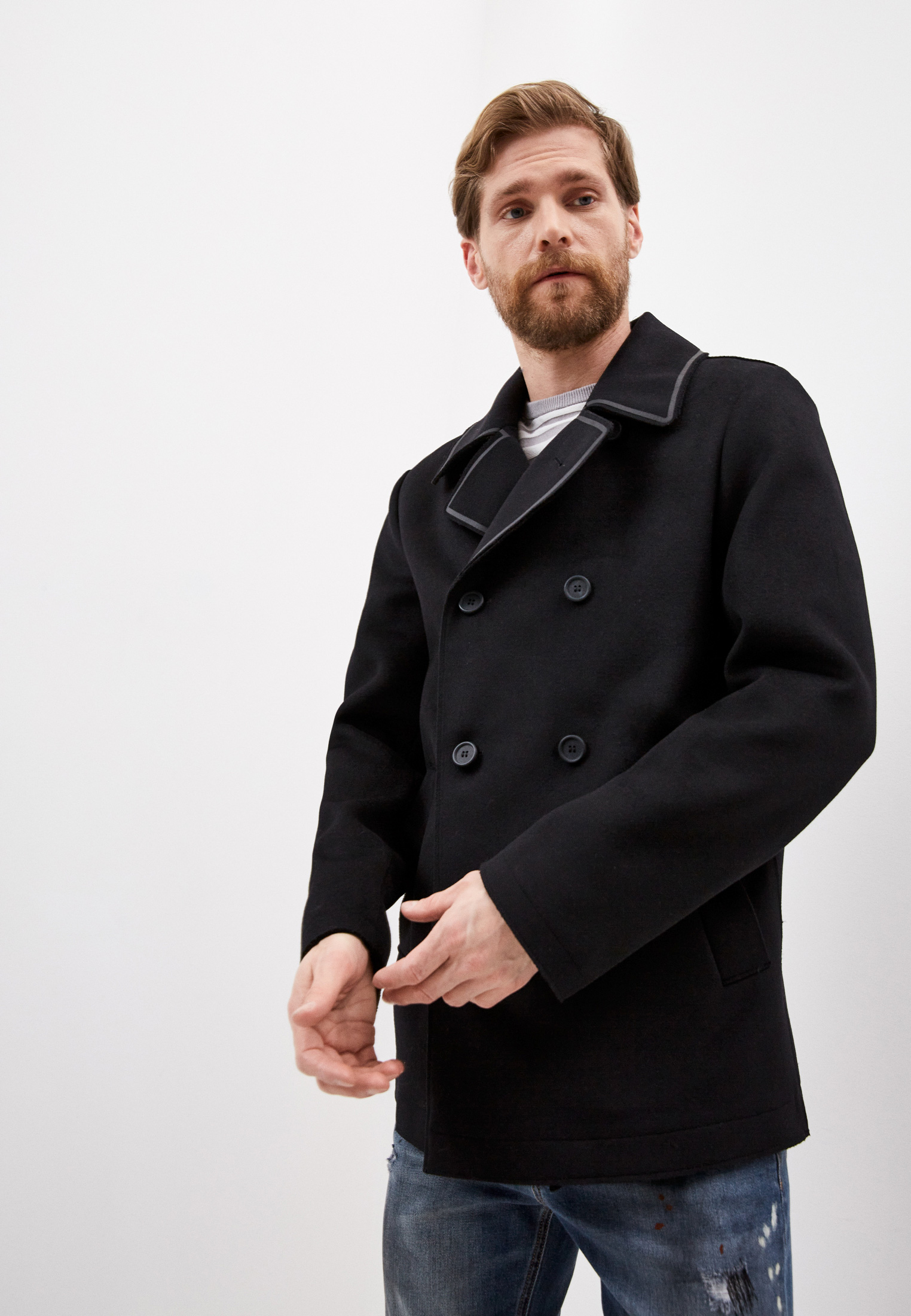 Мужское пальто Bikkembergs (Биккембергс) C J 005 01 T 9220: изображение 1
