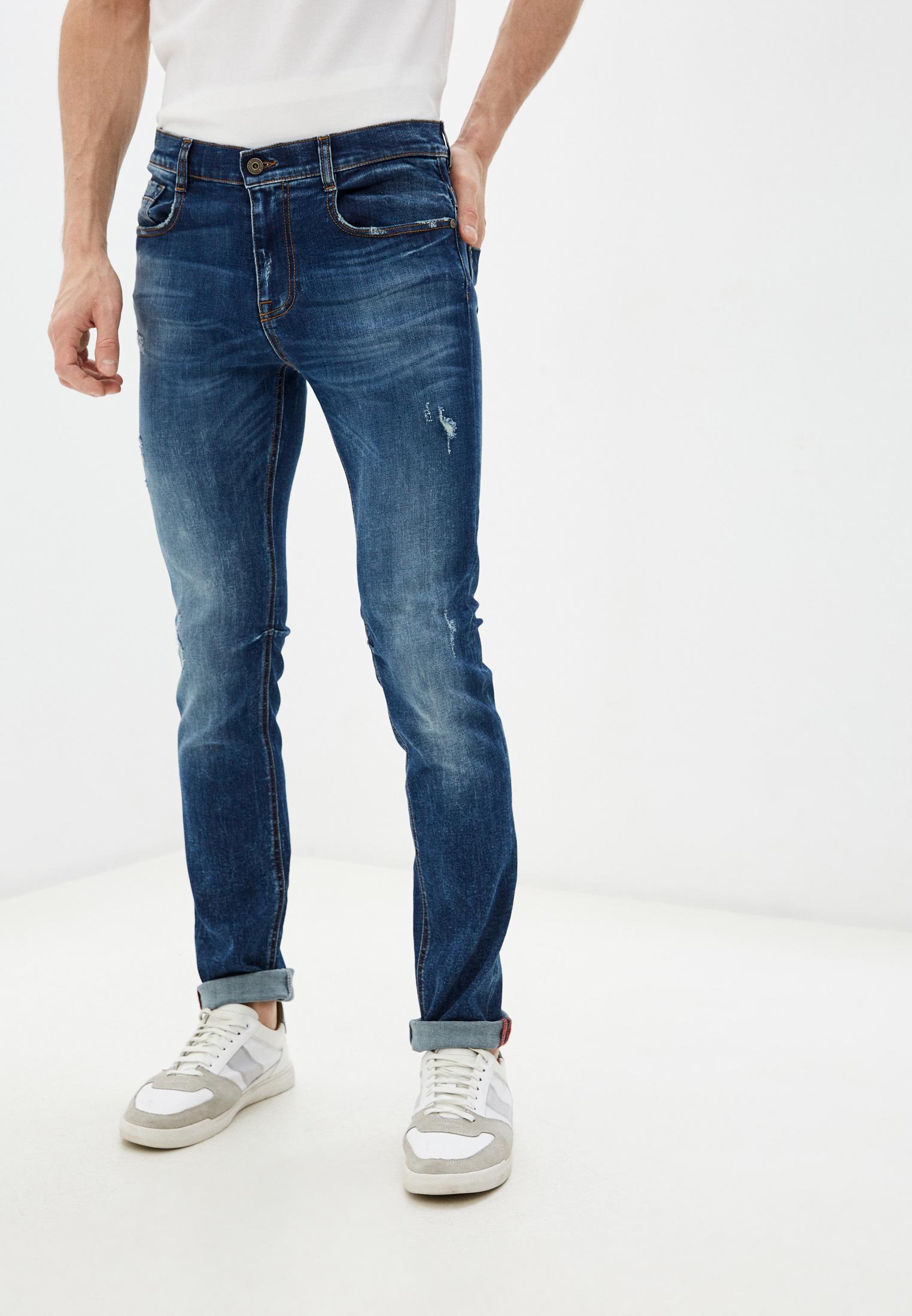 Мужские зауженные джинсы Bikkembergs (Биккембергс) C Q 101 00 S 3181: изображение 1