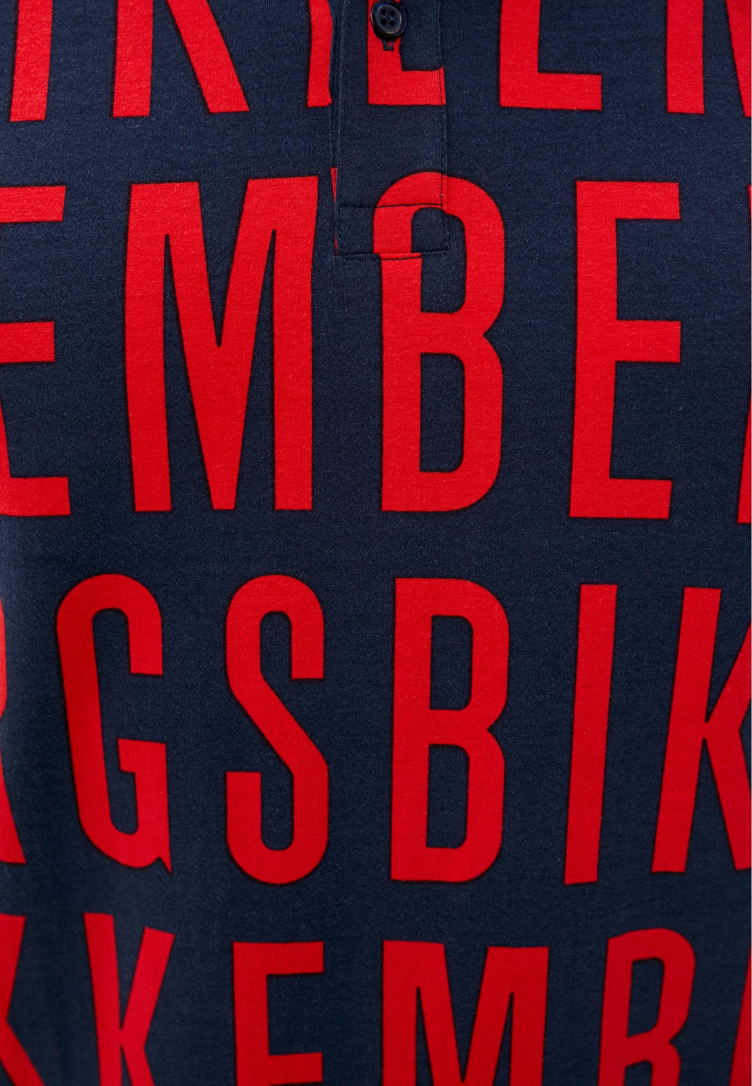 Мужские поло Bikkembergs (Биккембергс) C 8 010 00 E 2098: изображение 5