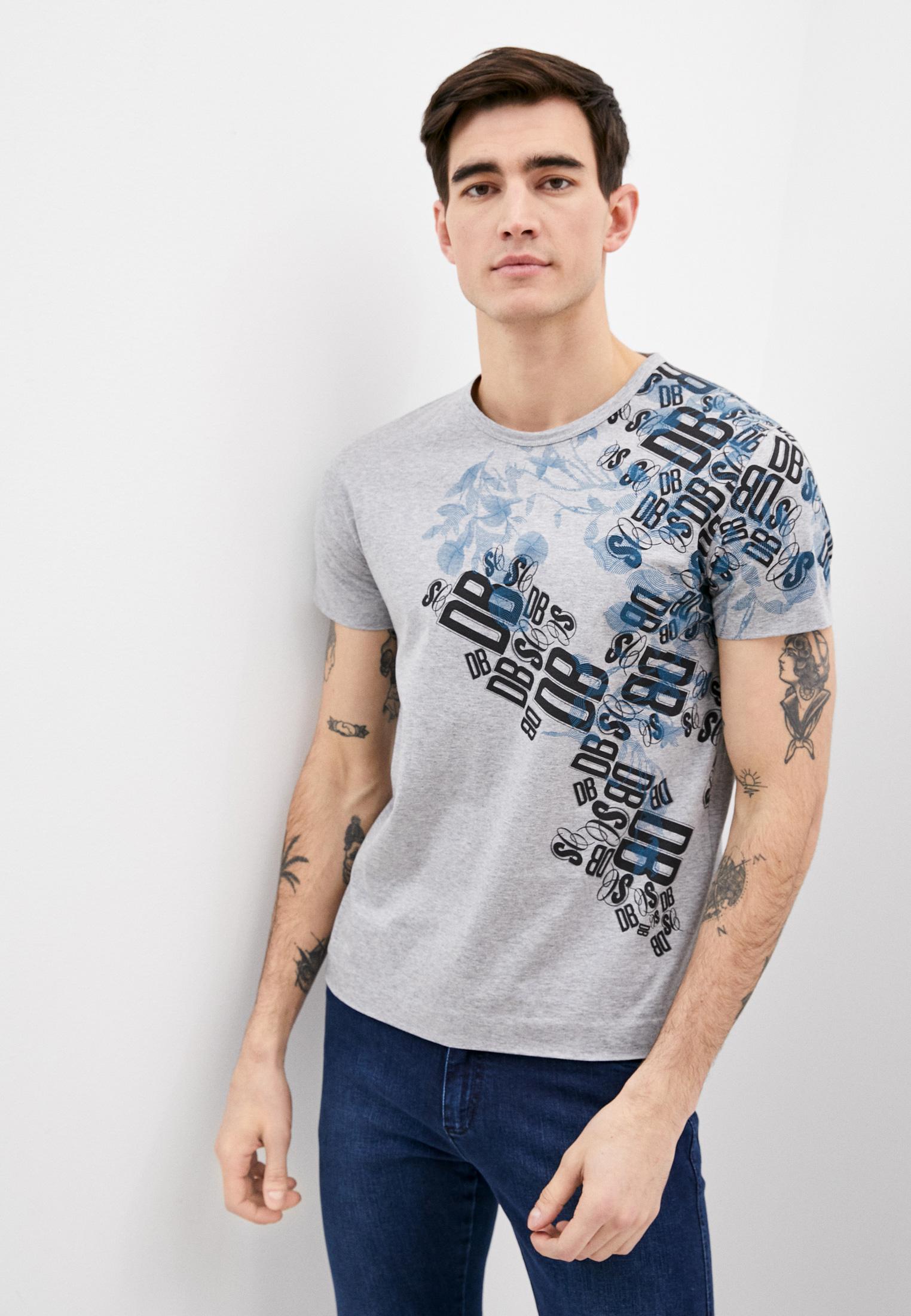 Мужская футболка Bikkembergs (Биккембергс) A714SGMMB098