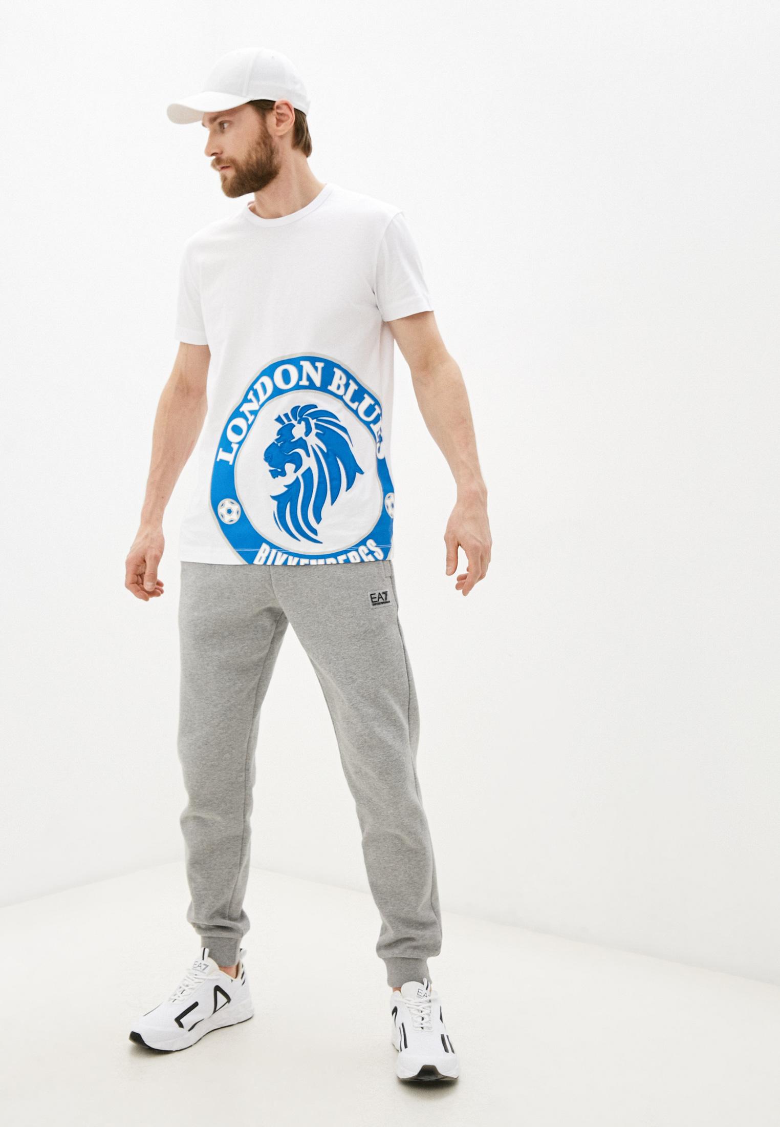 Мужская футболка Bikkembergs (Биккембергс) C451BE1B0391: изображение 3