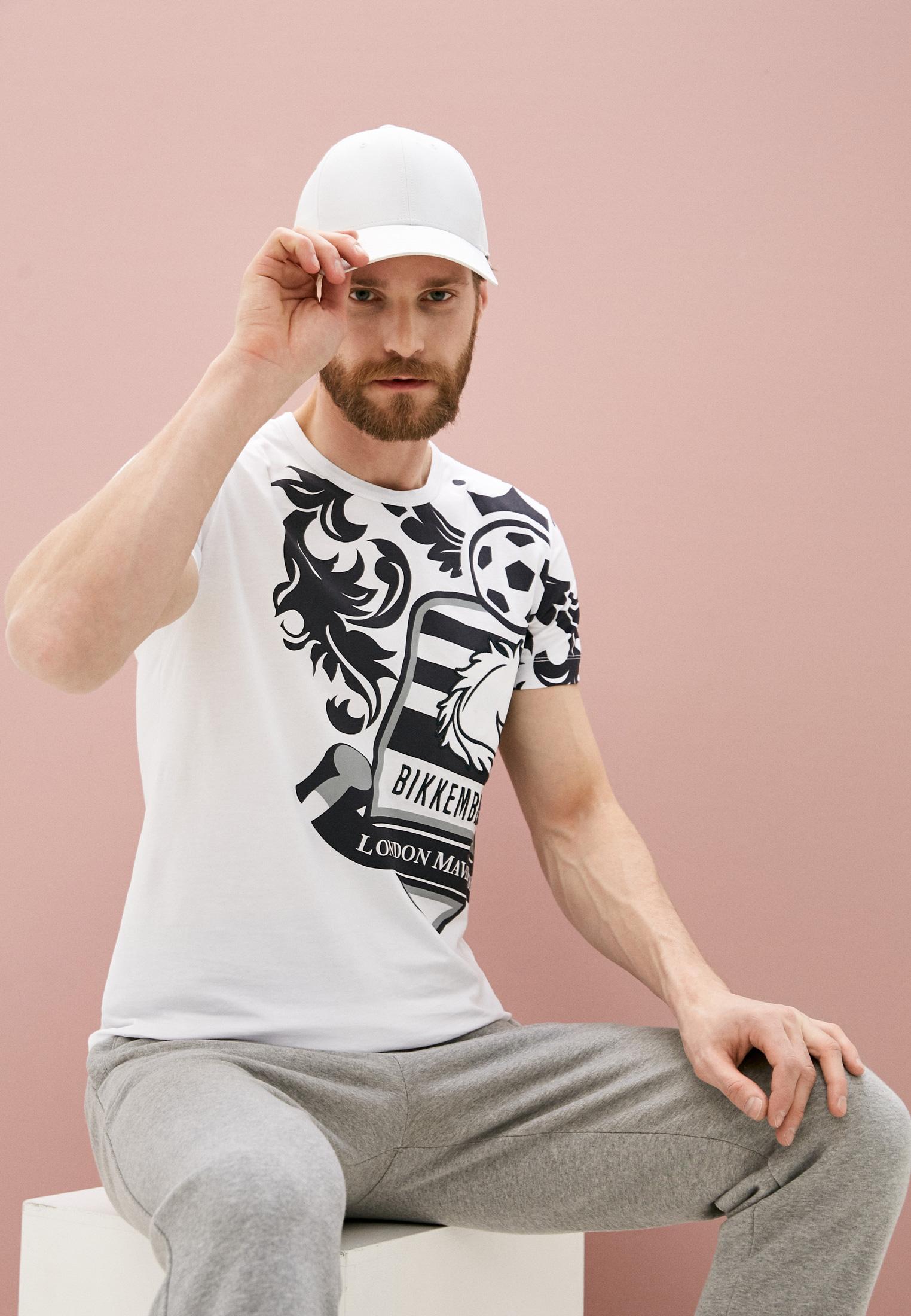 Мужская футболка Bikkembergs (Биккембергс) C452BE1B0391: изображение 2