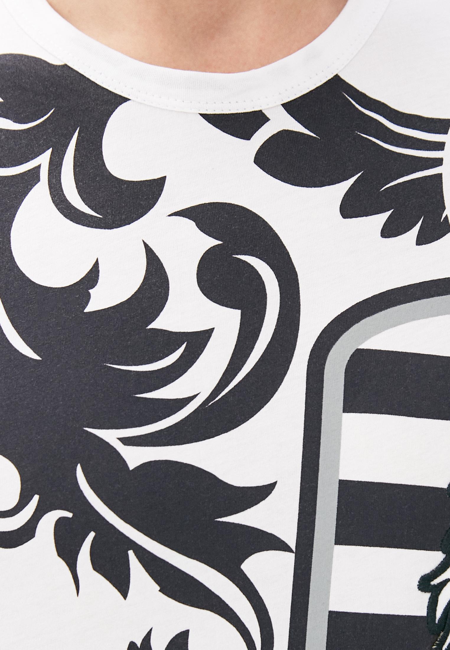 Мужская футболка Bikkembergs (Биккембергс) C452BE1B0391: изображение 5