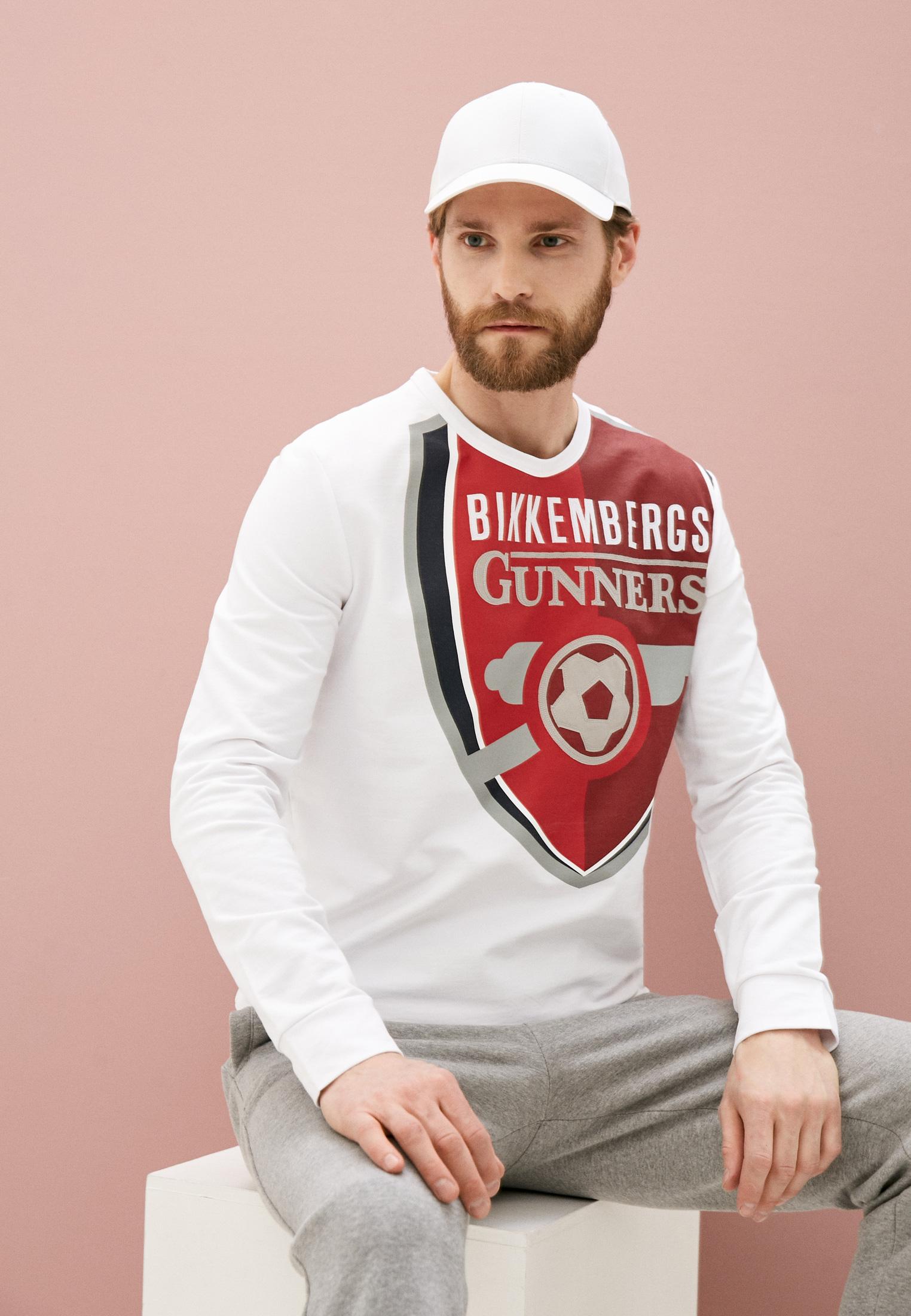 Мужская толстовка Bikkembergs (Биккембергс) C658BE1B0390: изображение 2