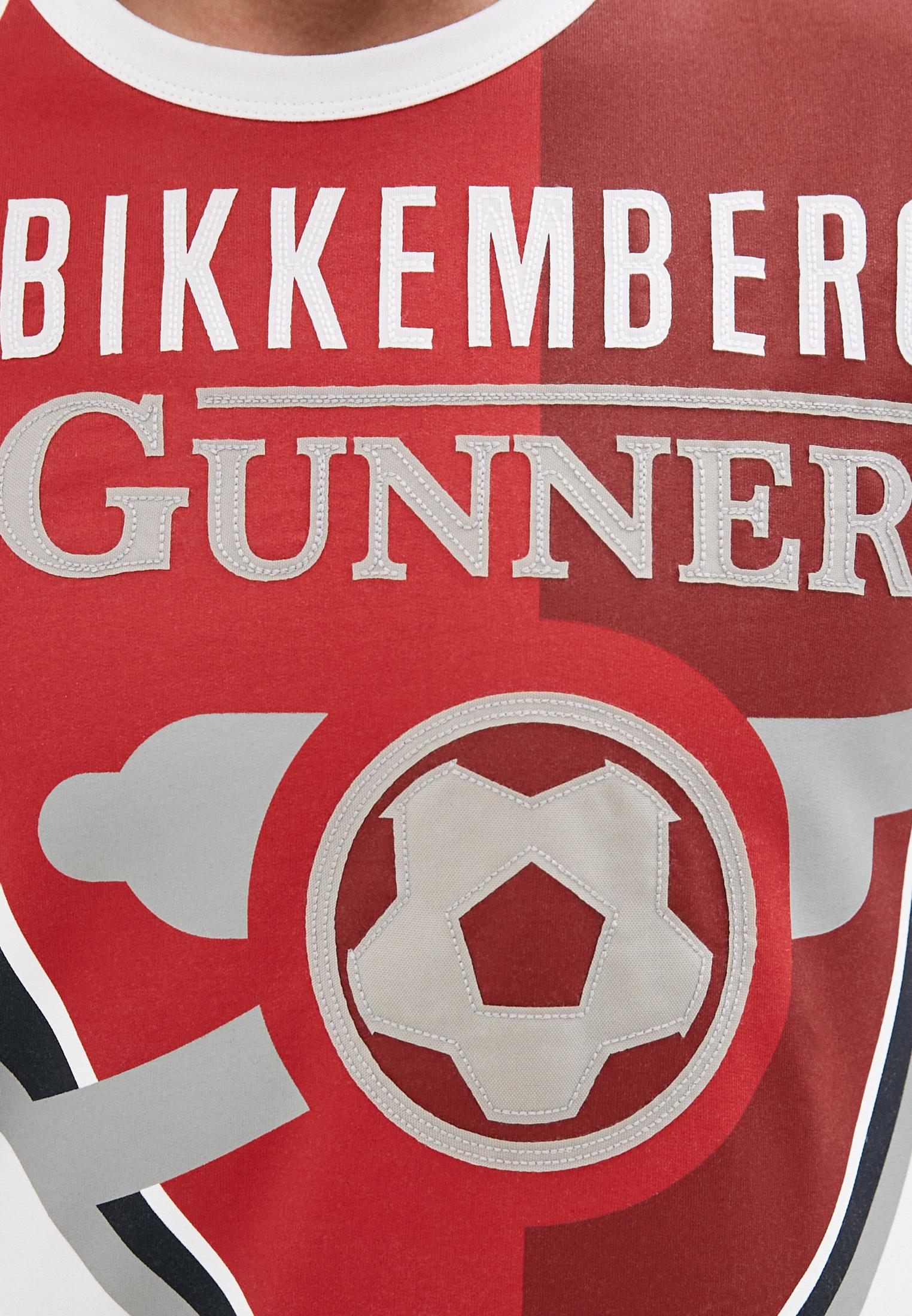 Мужская толстовка Bikkembergs (Биккембергс) C658BE1B0390: изображение 5