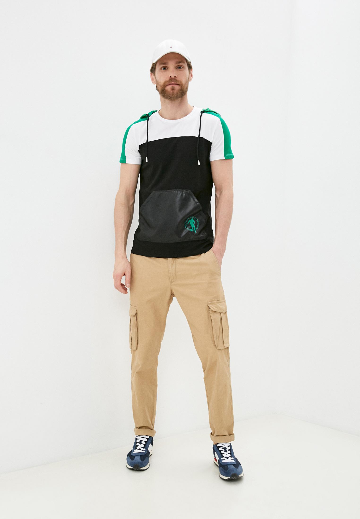 Мужская футболка Bikkembergs (Биккембергс) C718CFSEB047: изображение 6