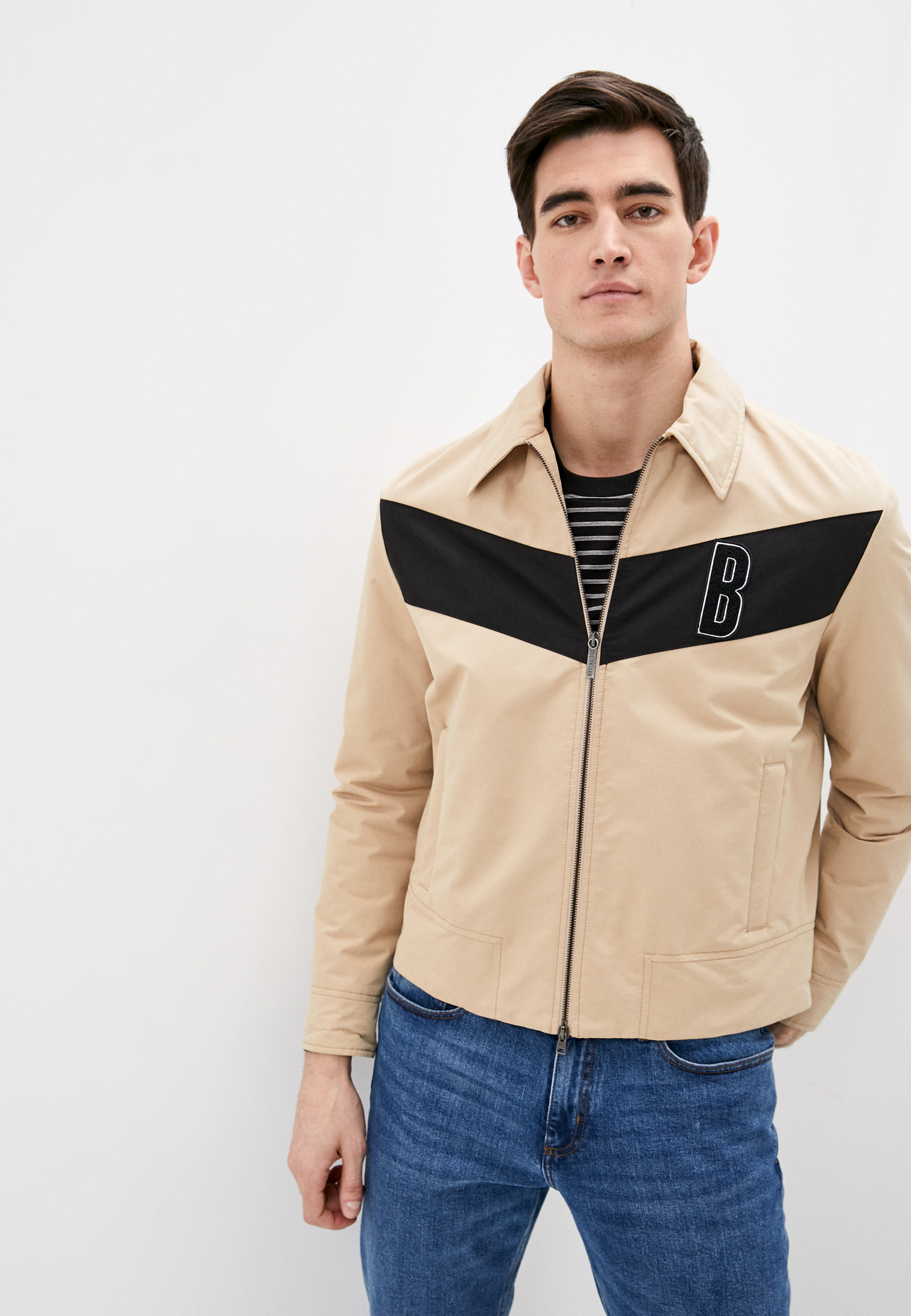Мужская куртка Bikkembergs (Биккембергс) CH00480T9245