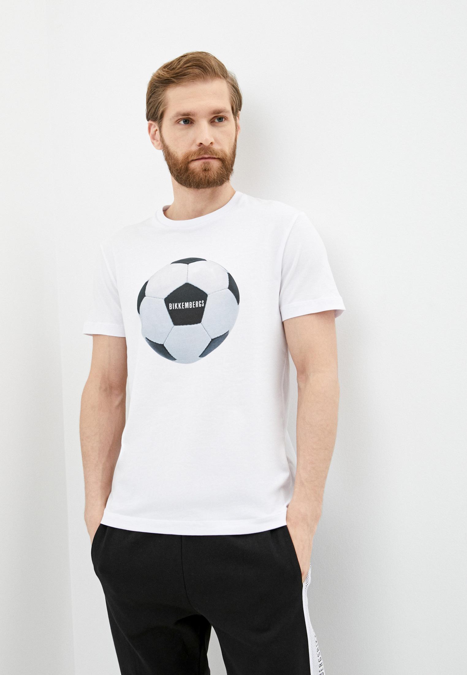 Мужская футболка Bikkembergs (Биккембергс) C 4 101 01 E 2231