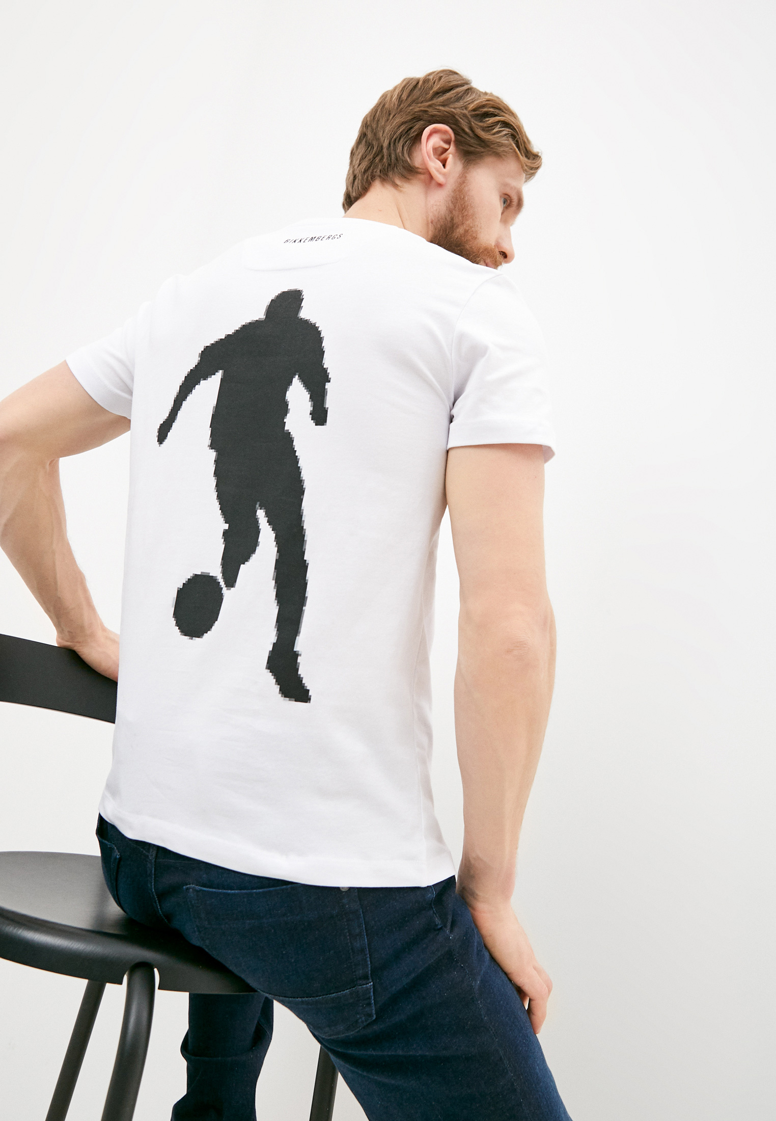 Мужская футболка Bikkembergs (Биккембергс) C 4 101 02 E 2231