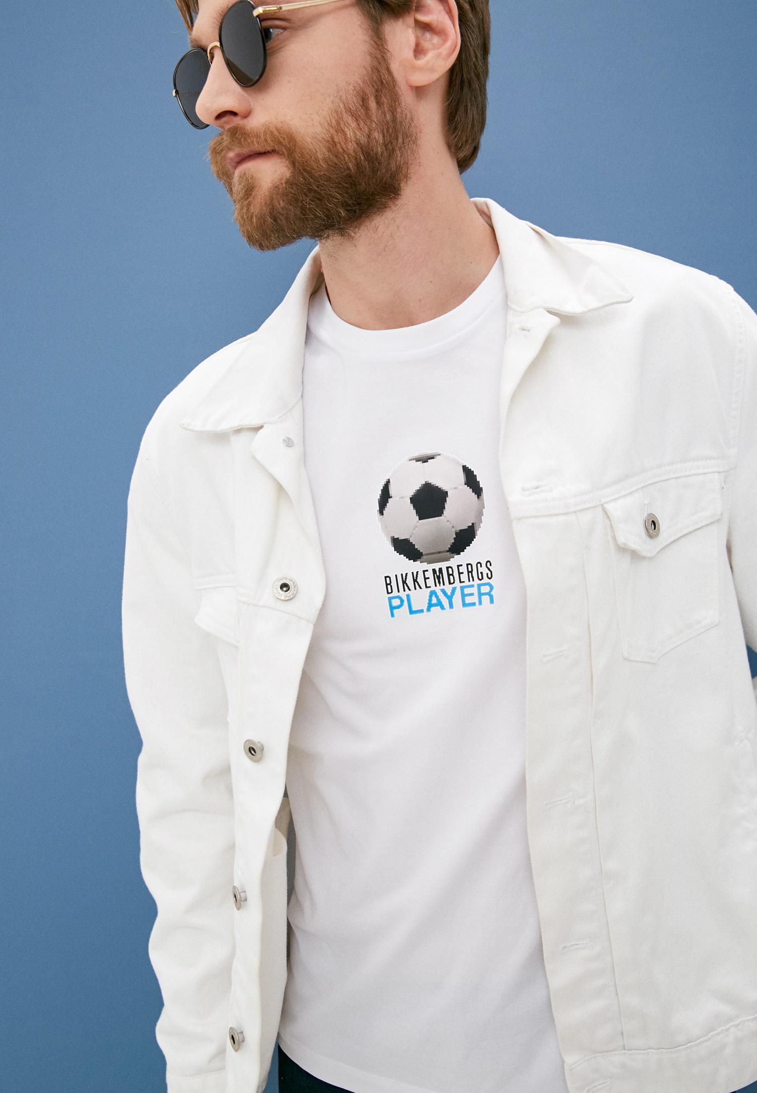 Мужская футболка Bikkembergs (Биккембергс) C 4 101 02 E 2231: изображение 2