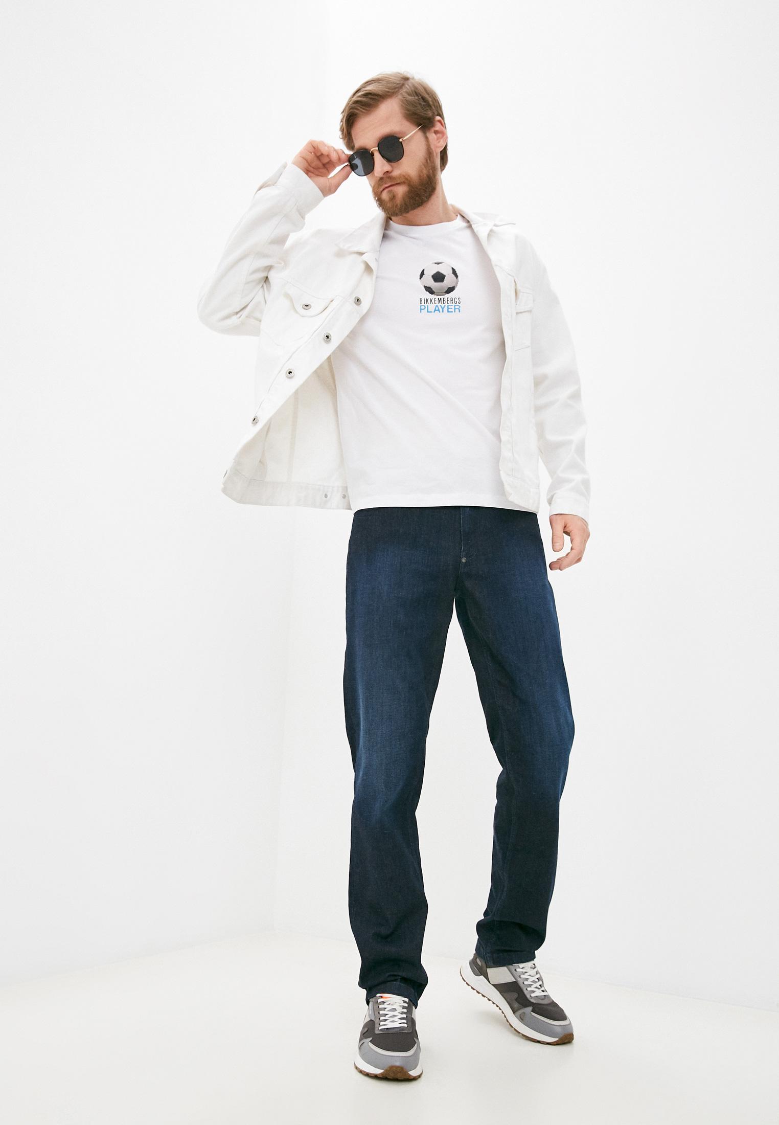 Мужская футболка Bikkembergs (Биккембергс) C 4 101 02 E 2231: изображение 3