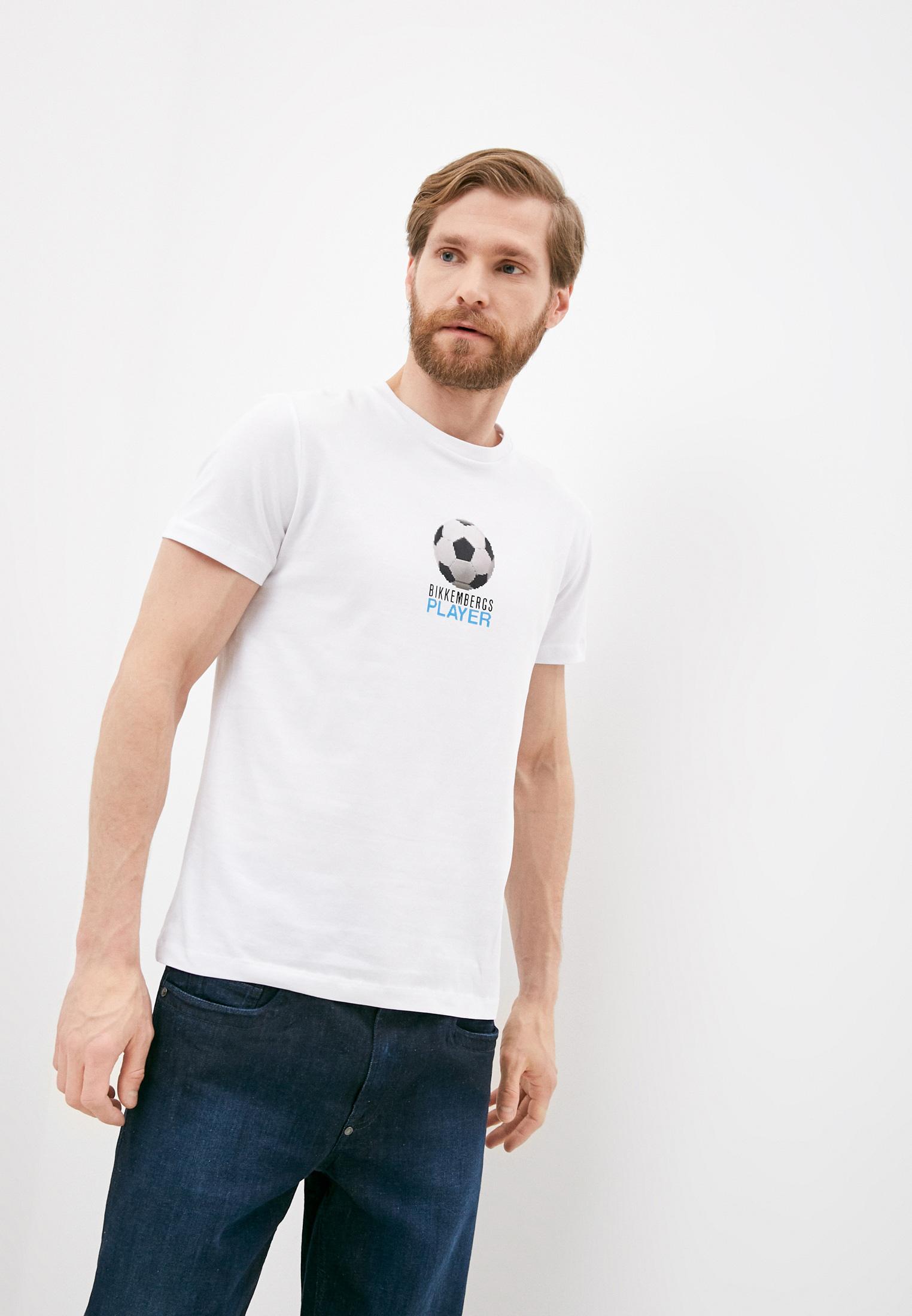 Мужская футболка Bikkembergs (Биккембергс) C 4 101 02 E 2231: изображение 4
