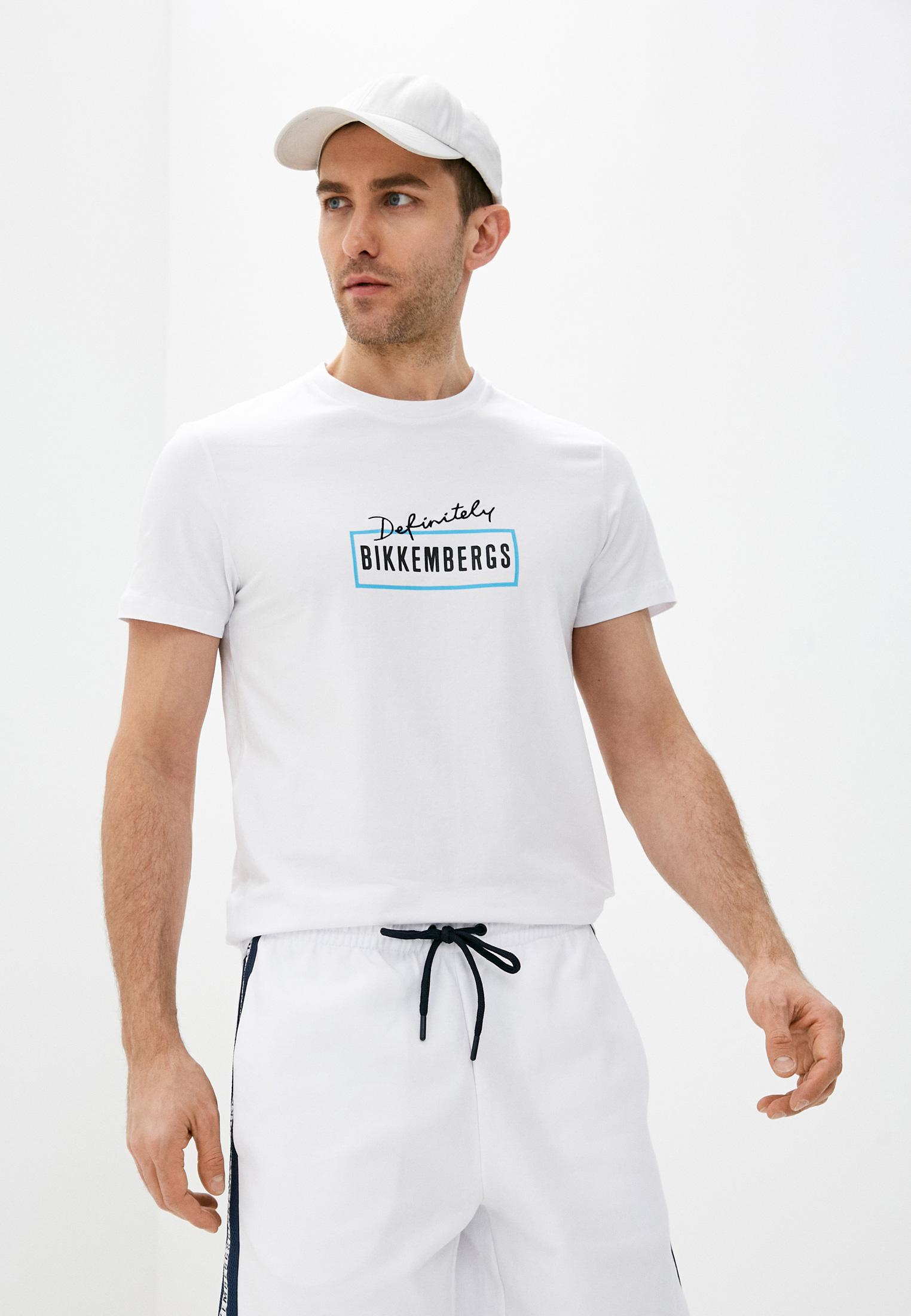 Мужская футболка Bikkembergs (Биккембергс) C 4 101 03 E 2231
