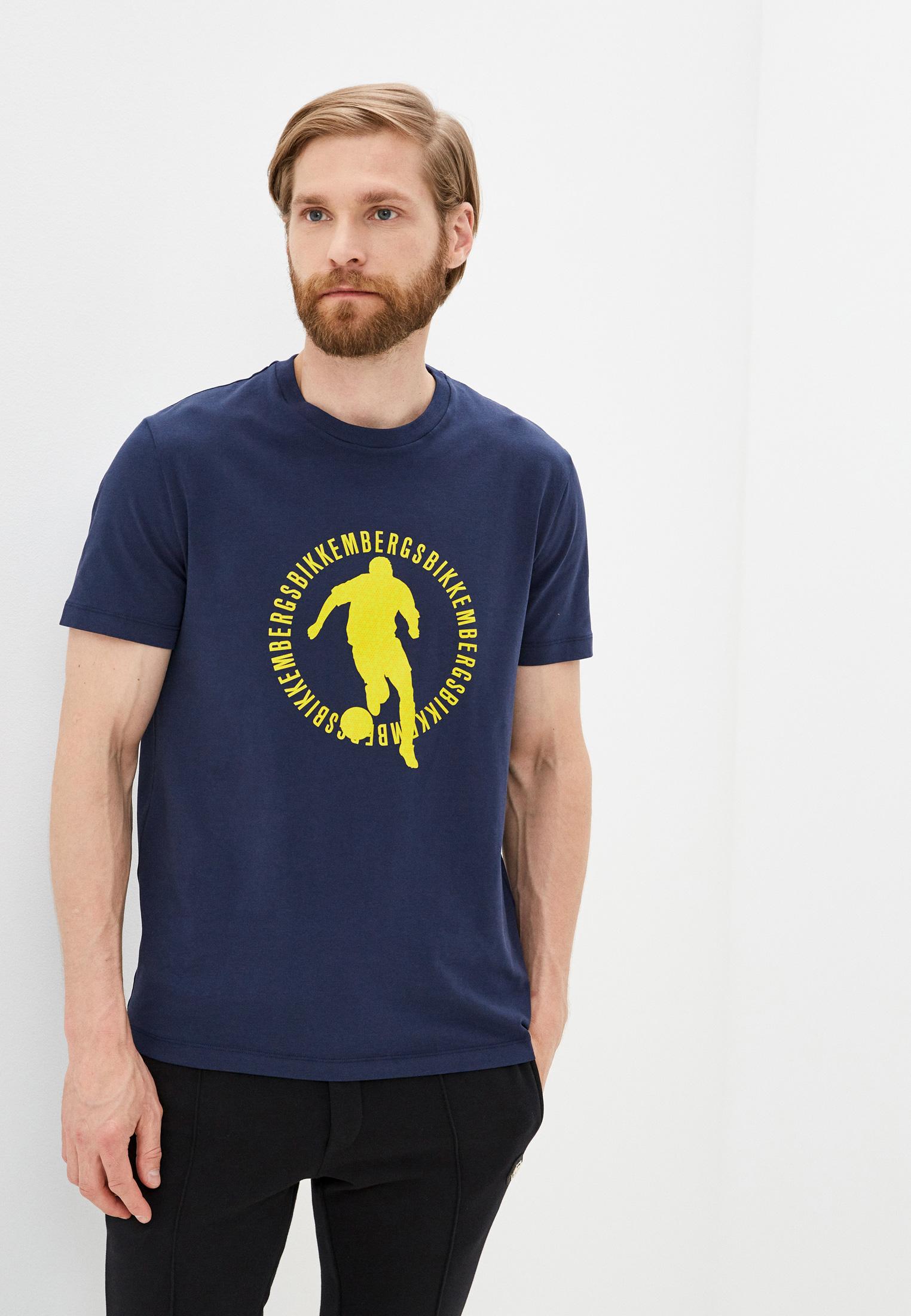 Мужская футболка Bikkembergs (Биккембергс) C 4 101 17 E 1811: изображение 6