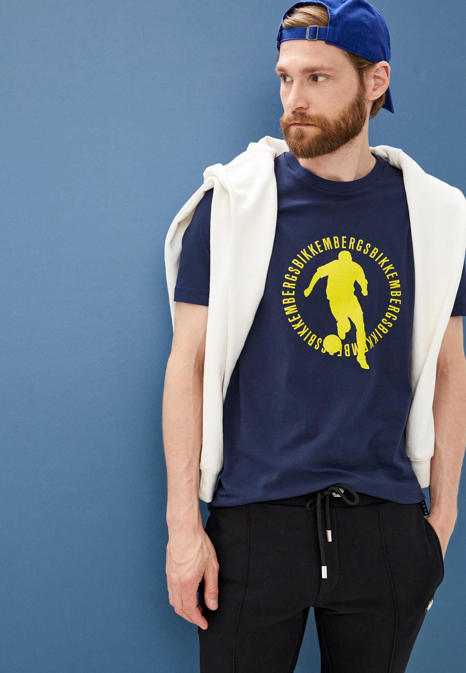 Мужская футболка Bikkembergs (Биккембергс) C 4 101 17 E 1811: изображение 7