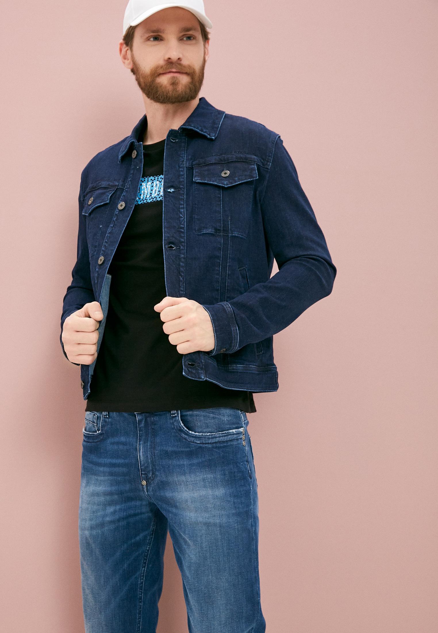 Мужские зауженные джинсы Bikkembergs (Биккембергс) C Q 101 18 S 3511: изображение 2