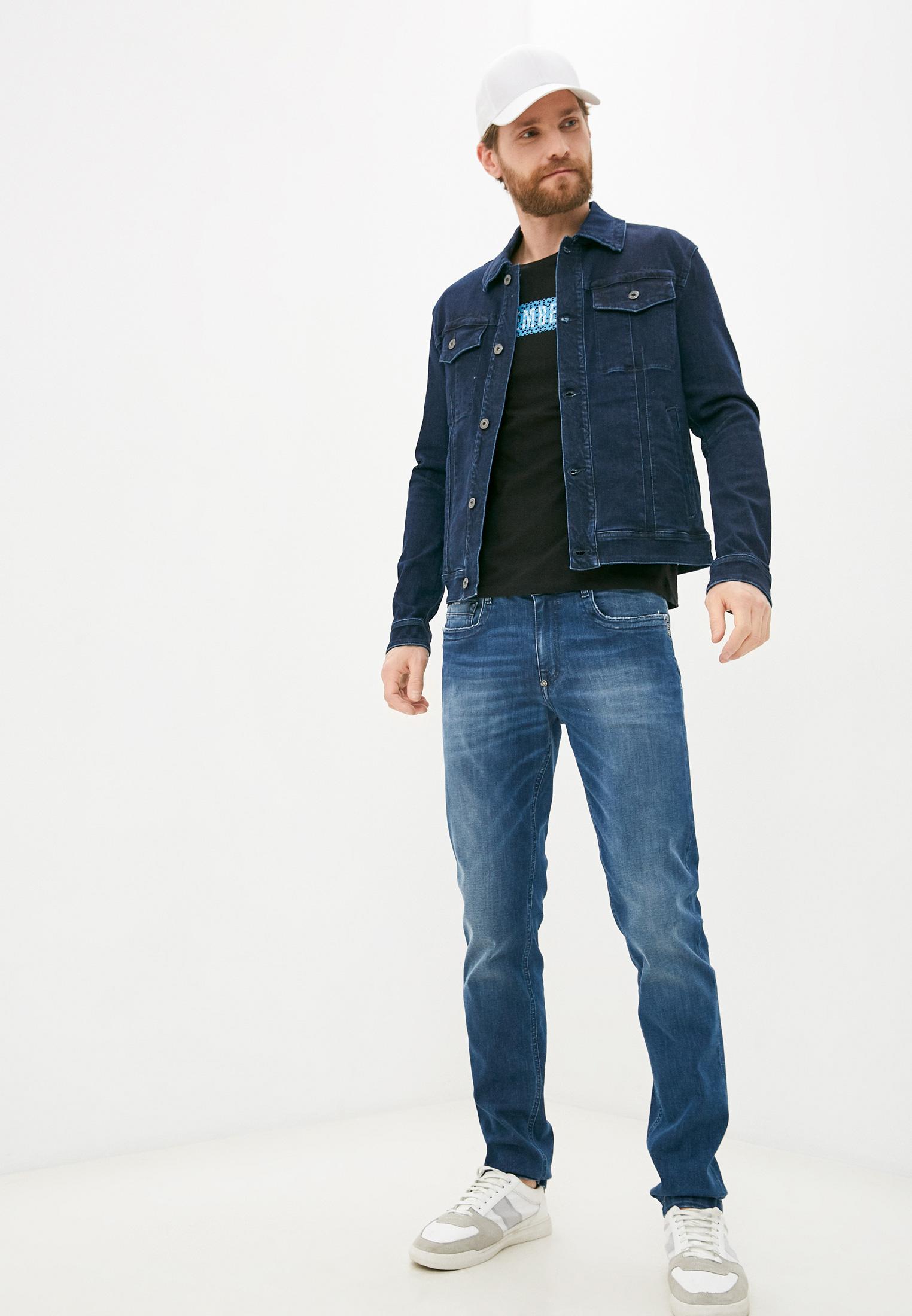 Мужские зауженные джинсы Bikkembergs (Биккембергс) C Q 101 18 S 3511: изображение 3