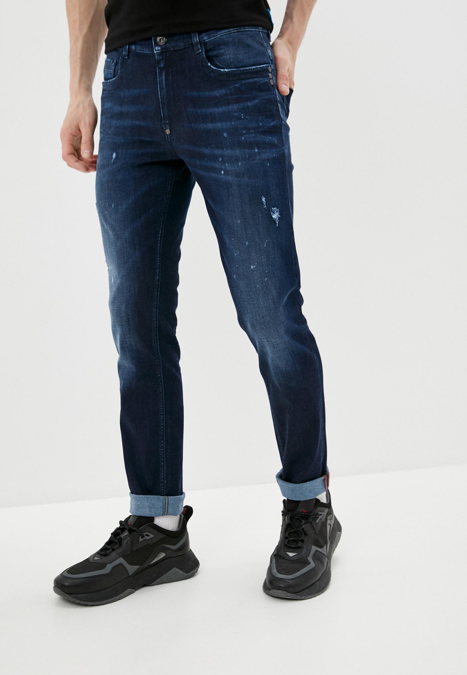 Мужские зауженные джинсы Bikkembergs (Биккембергс) C Q 101 22 S 3511
