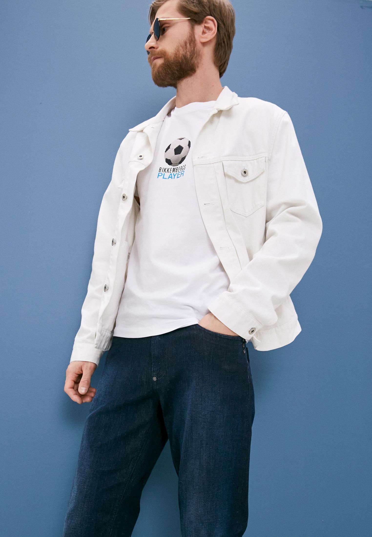 Мужские прямые джинсы Bikkembergs (Биккембергс) C Q 102 22 S 3511: изображение 2