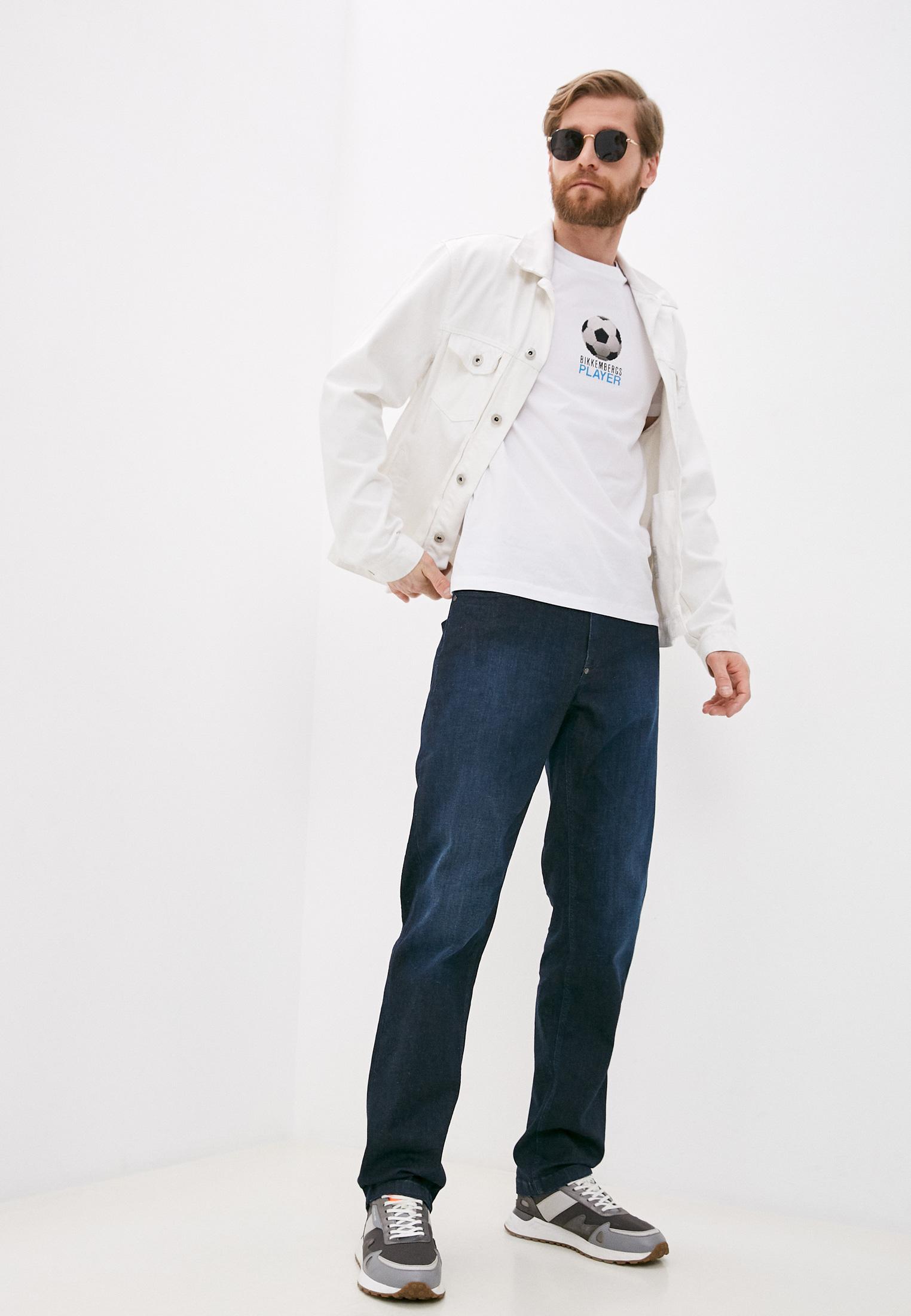 Мужские прямые джинсы Bikkembergs (Биккембергс) C Q 102 22 S 3511: изображение 3
