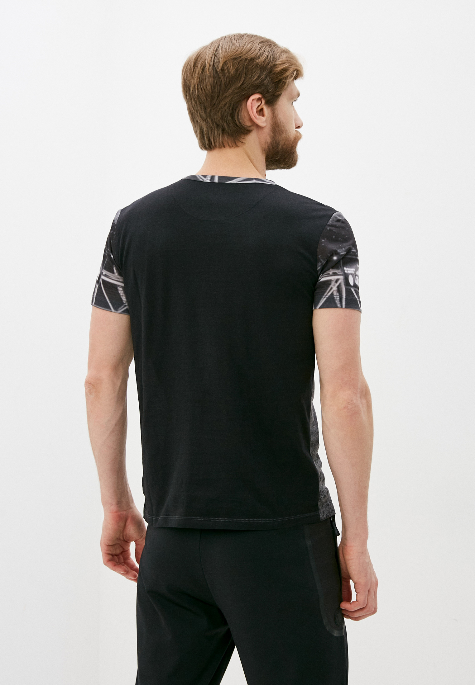 Мужская футболка Bikkembergs (Биккембергс) C425BE1B0386: изображение 4