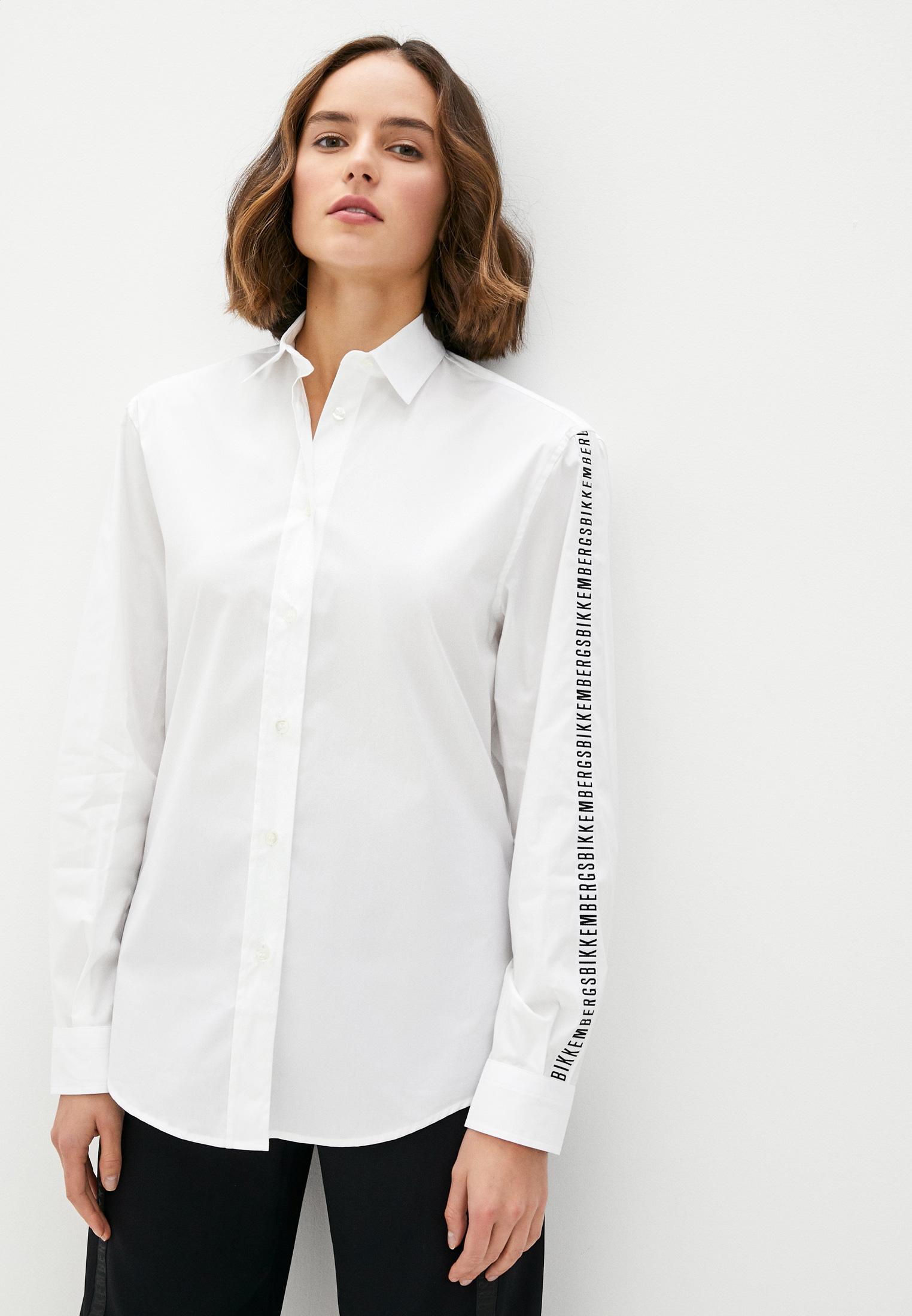 Женские рубашки с длинным рукавом Bikkembergs D C 033 81 S 2931
