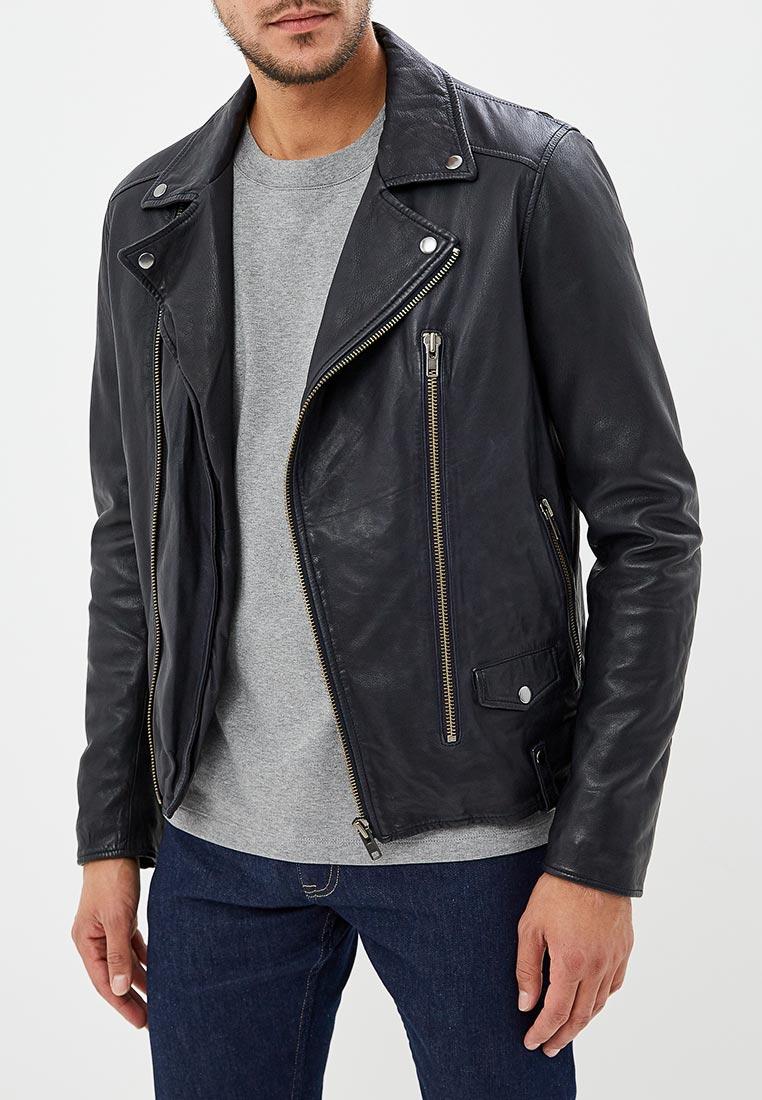 Кожаная куртка Blouson mn149