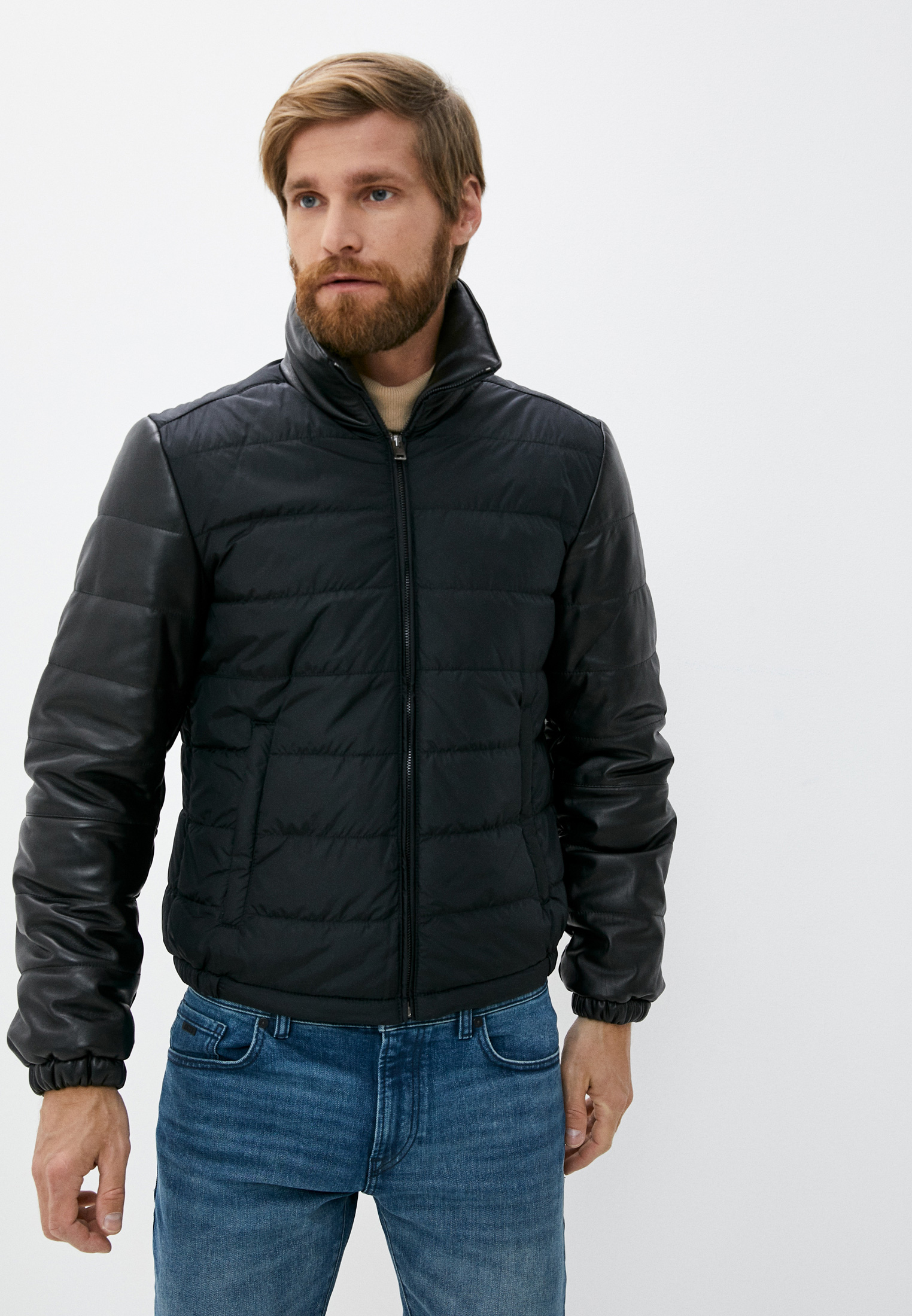 Куртка Blouson 605nappa roma+nylon