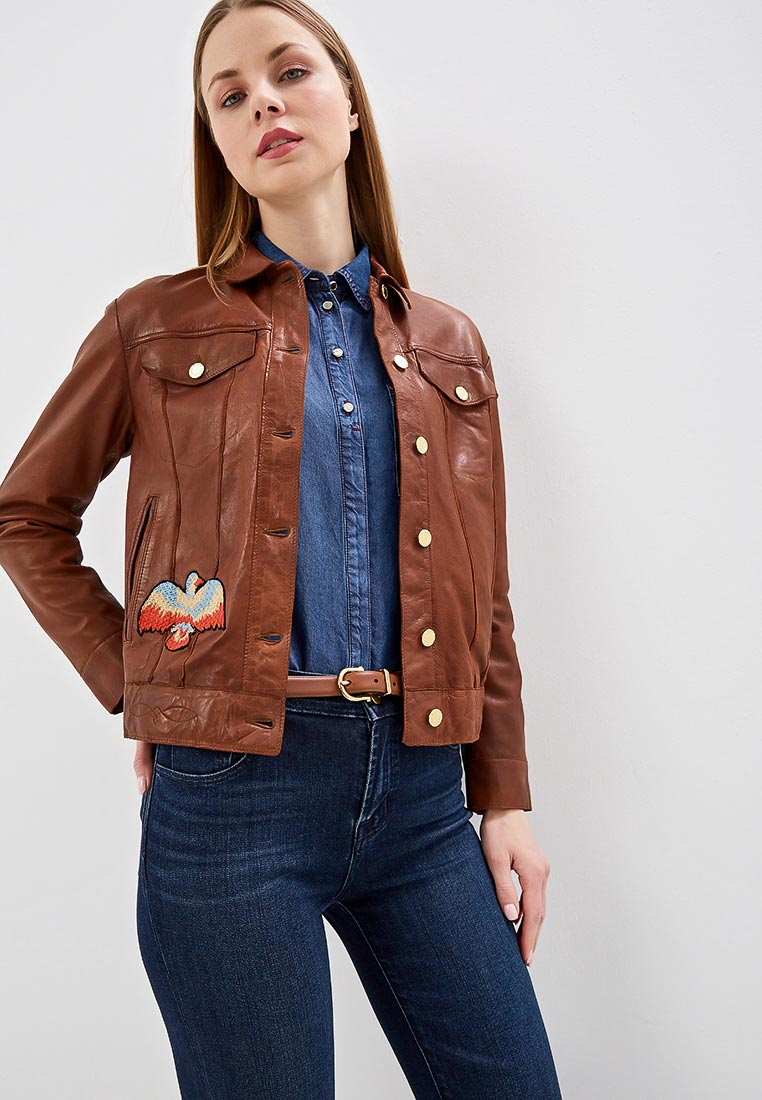 Кожаная куртка Blouson WN177 NAPPA PARIS