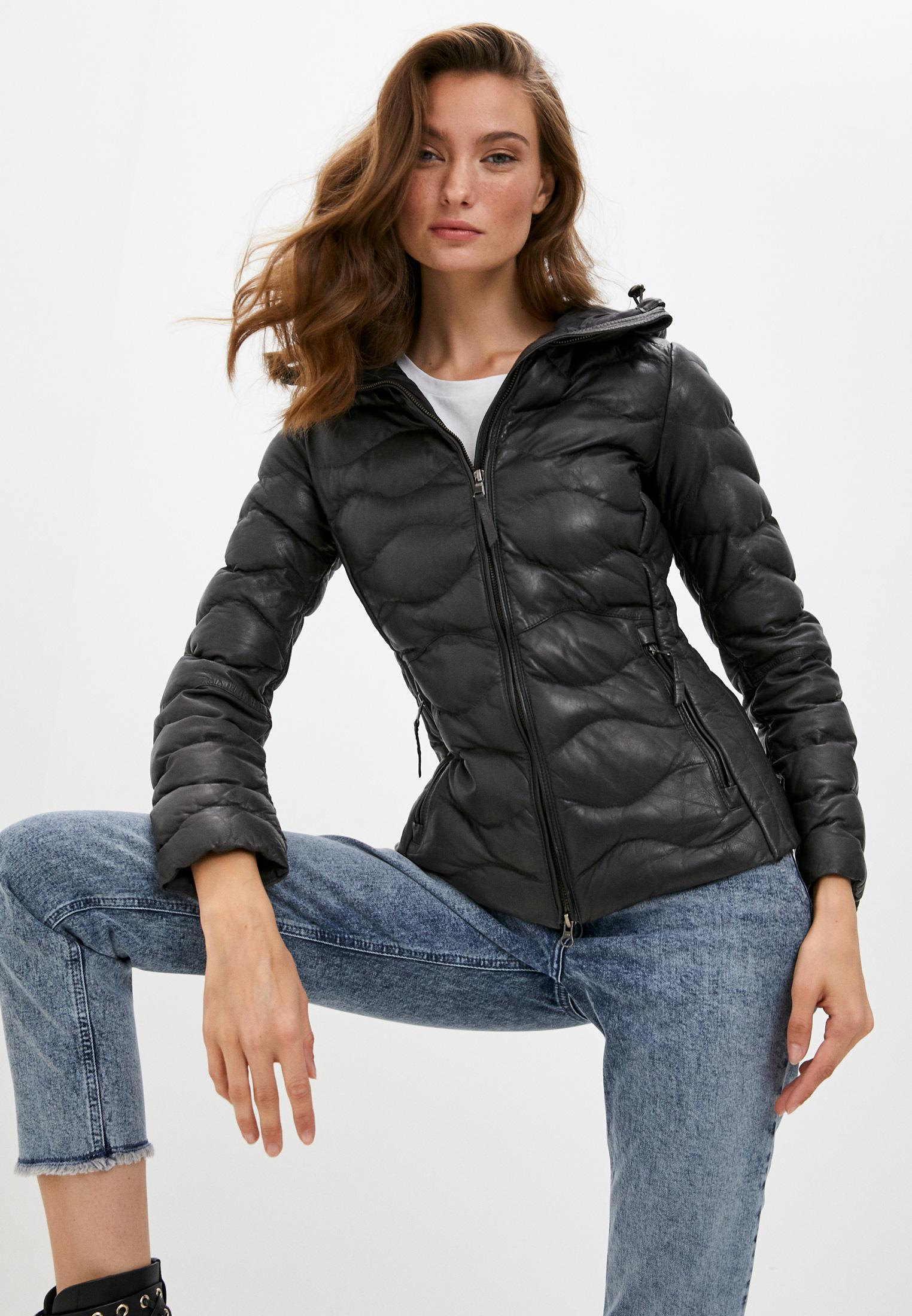 Кожаная куртка Blouson 503nappa paris